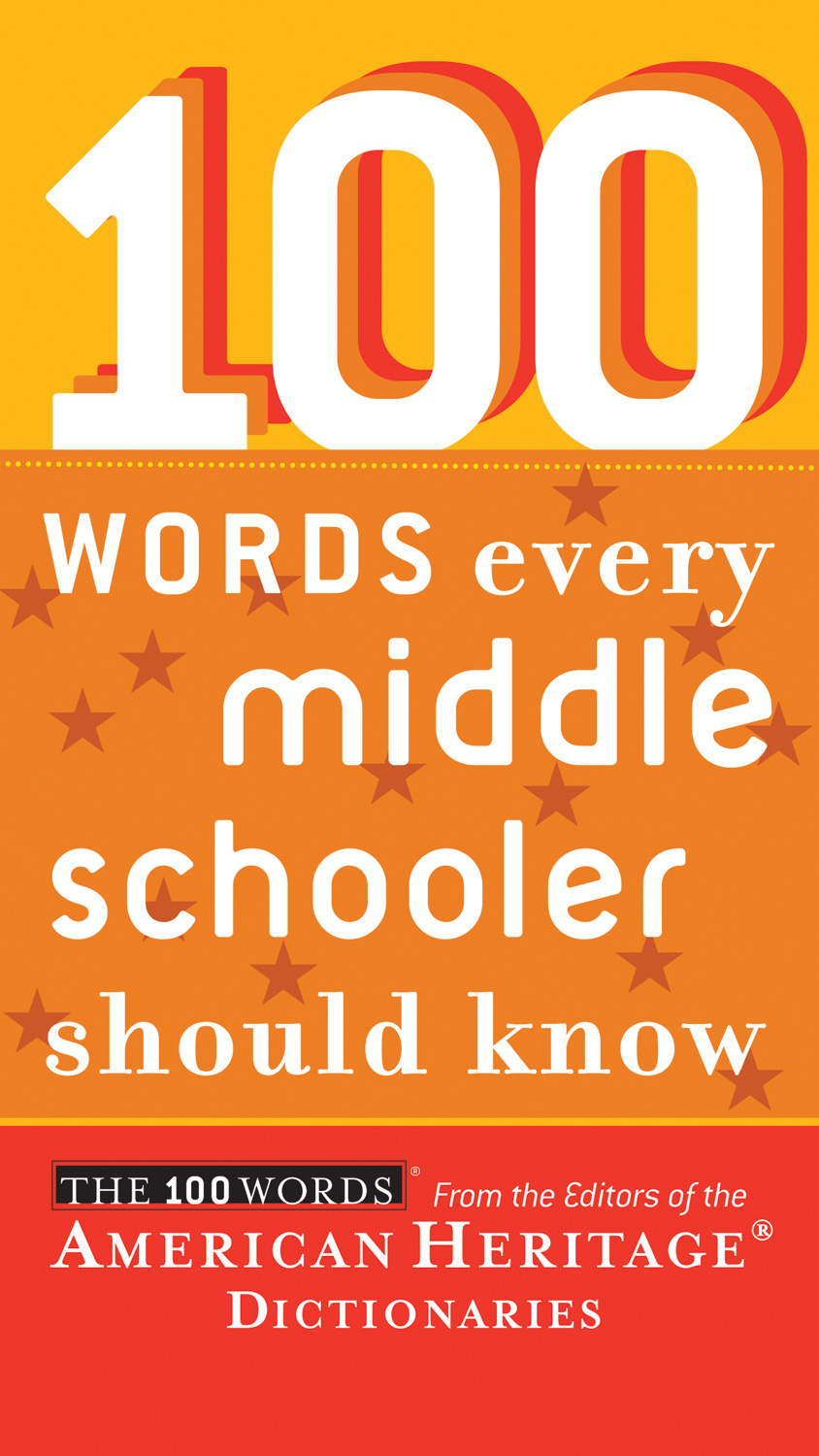 100 Words Every Middle Schooler Should Know-9780547333229