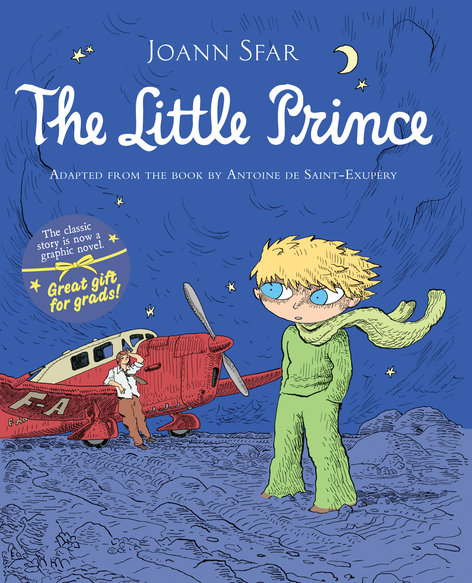 The Little Prince Graphic Novel-9780547338002