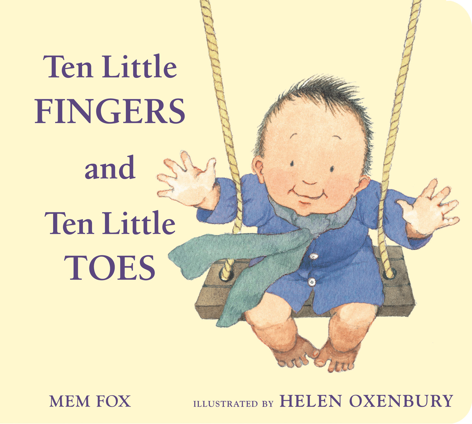 Ten Little Fingers and Ten Little Toes padded board book-9780547366203