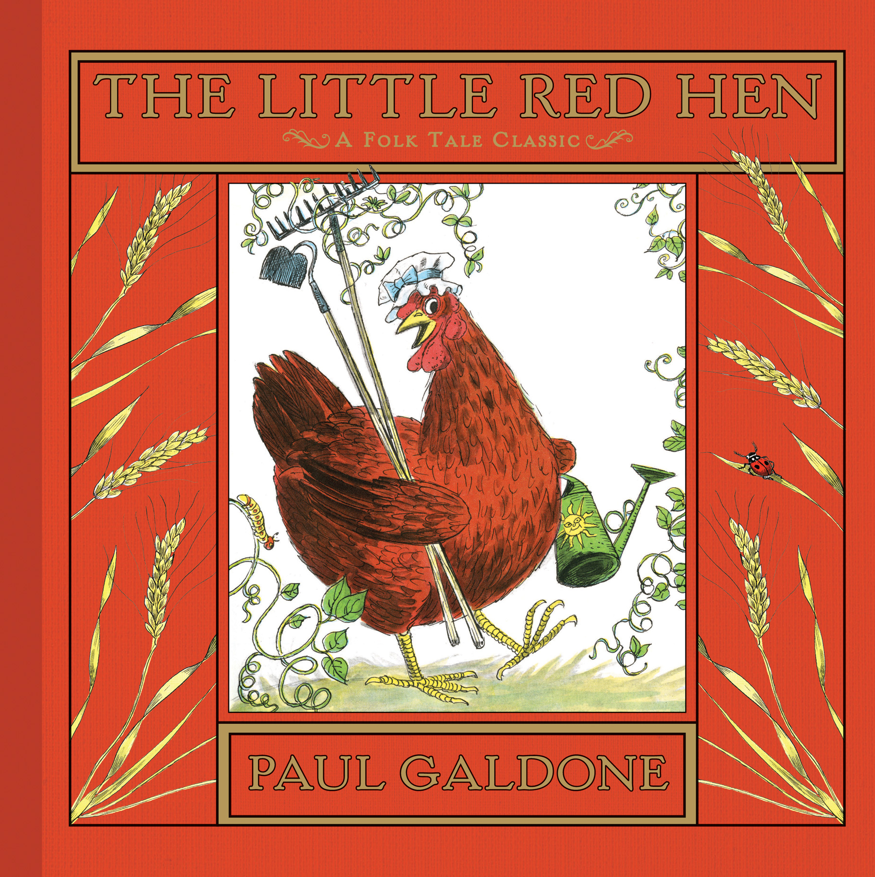 The Little Red Hen-9780547370187