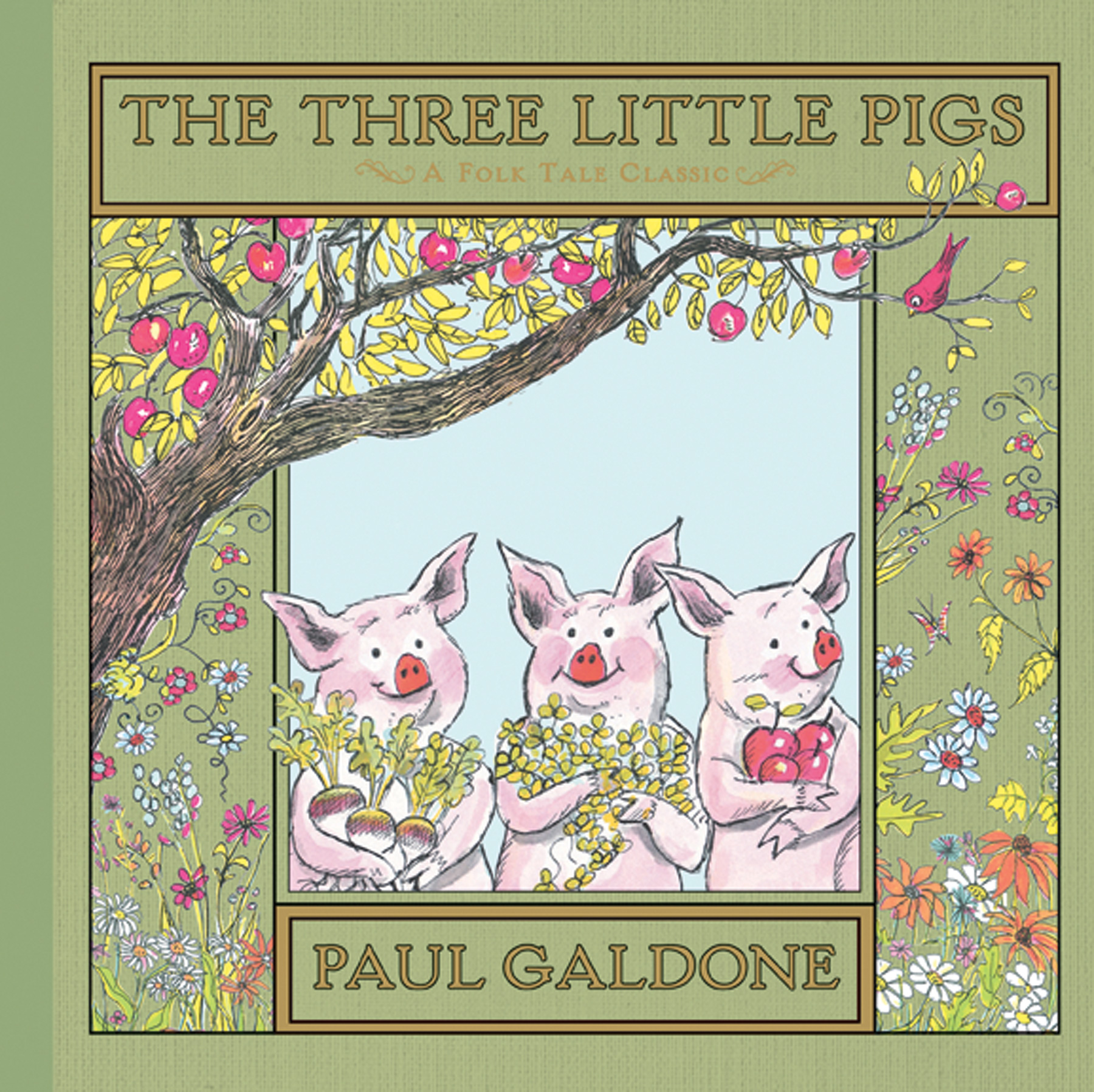The Three Little Pigs-9780547370200