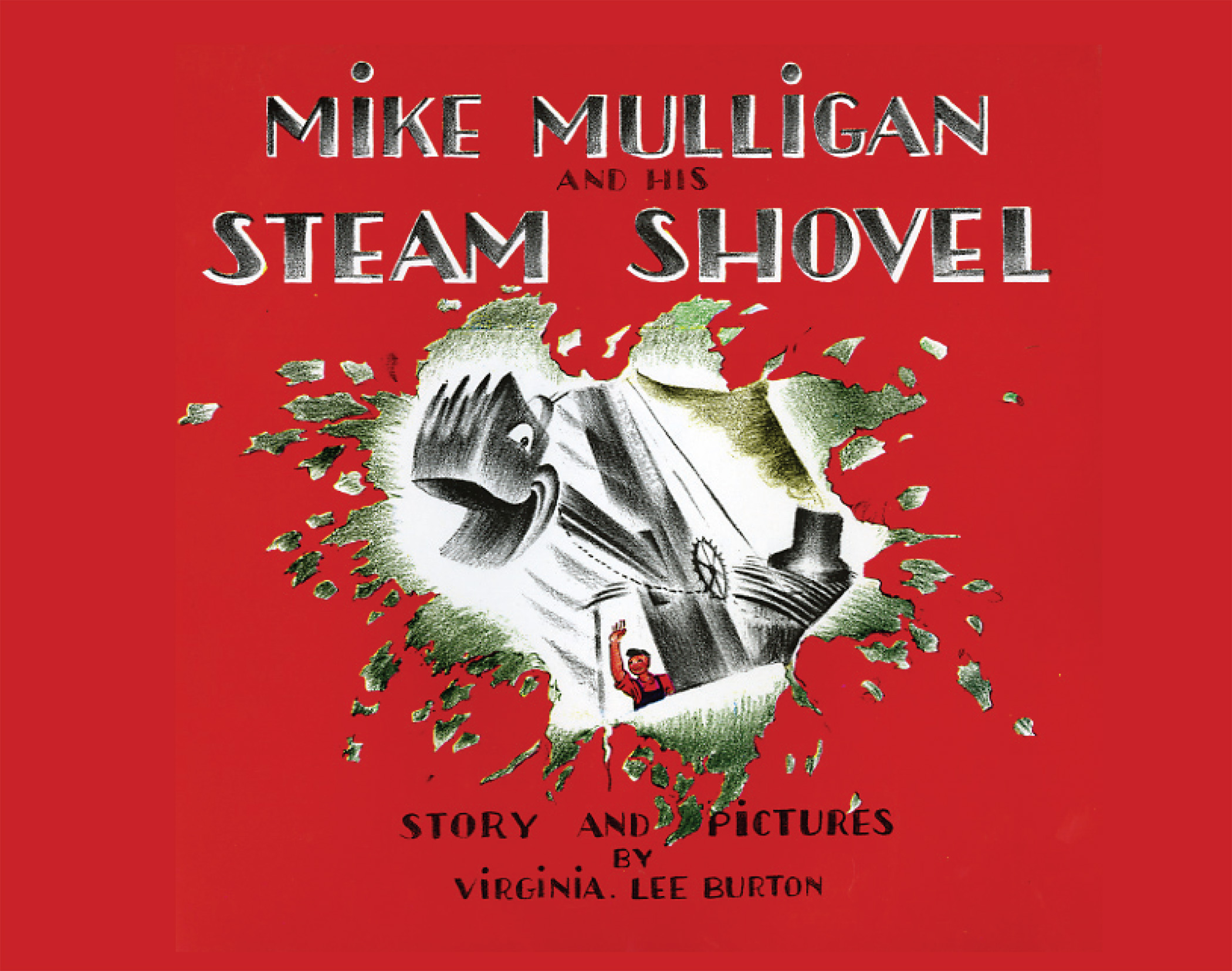 Mike Mulligan and His Steam Shovel lap board book-9780547385662