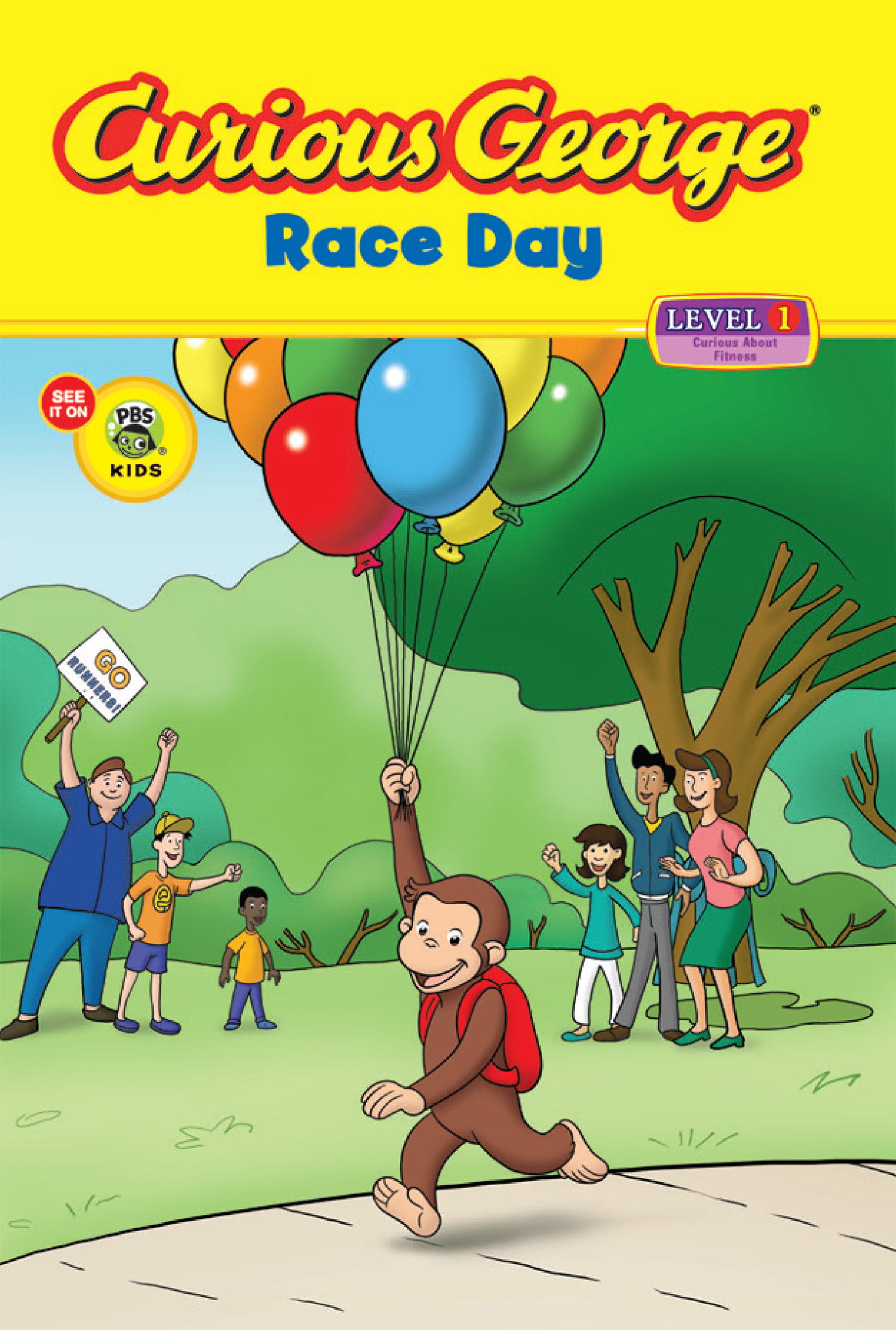 Curious George Race Day (CGTV Reader)-9780547393612