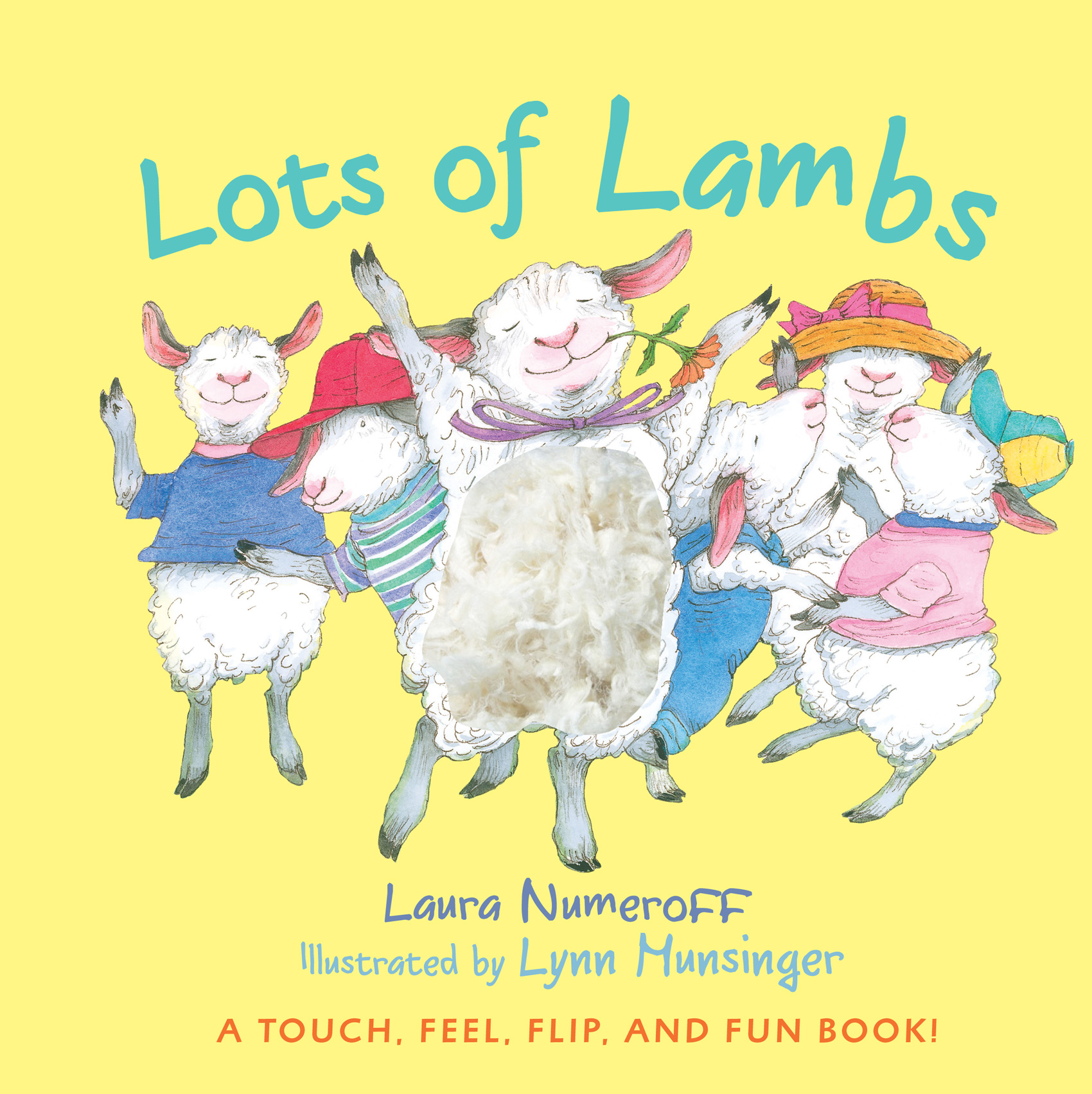 Lots of Lambs-9780547402062