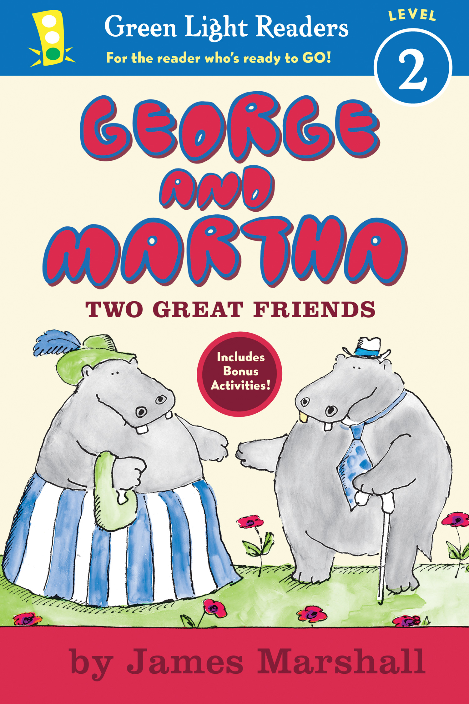 George and Martha Two Great Friends Early Reader-9780547406251