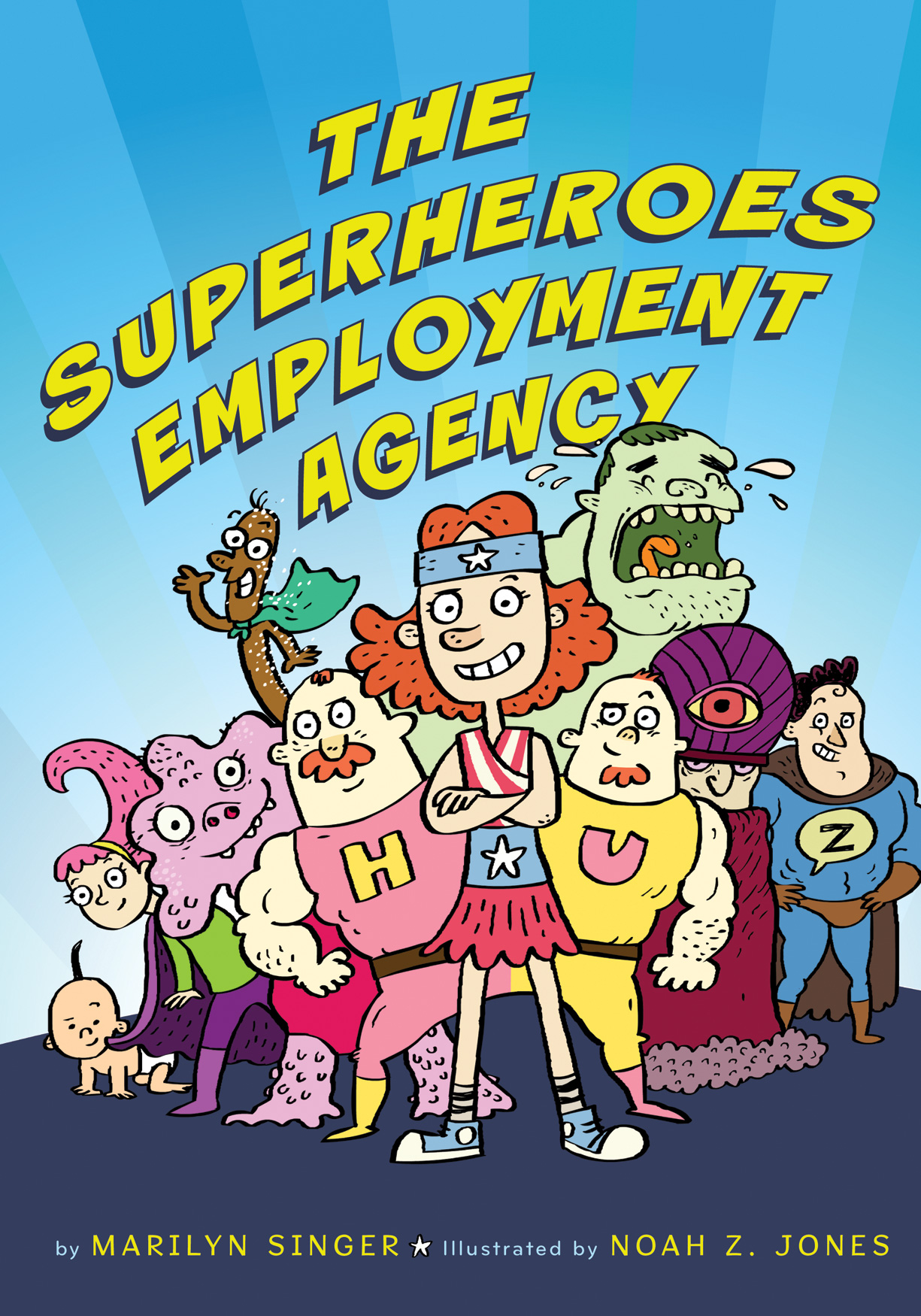 The Superheroes Employment Agency-9780547435596