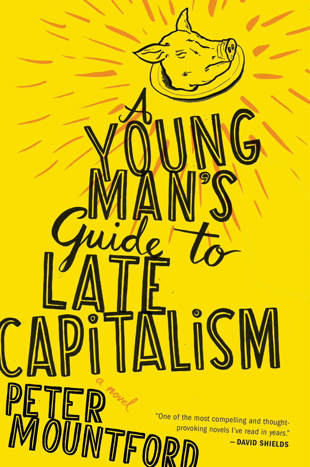 A Young Man's Guide to Late Capitalism-9780547473352