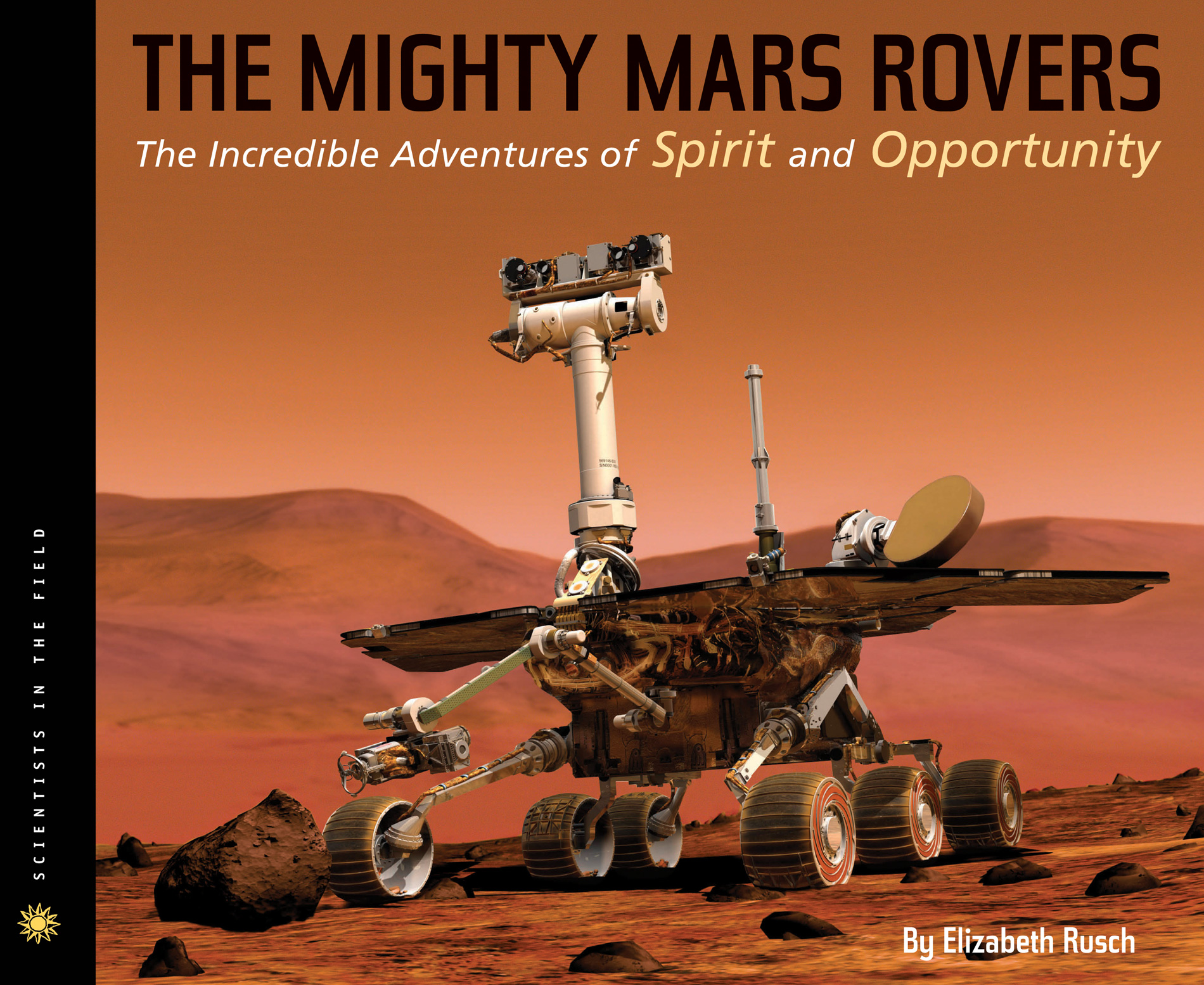 The Mighty Mars Rovers-9780547478814