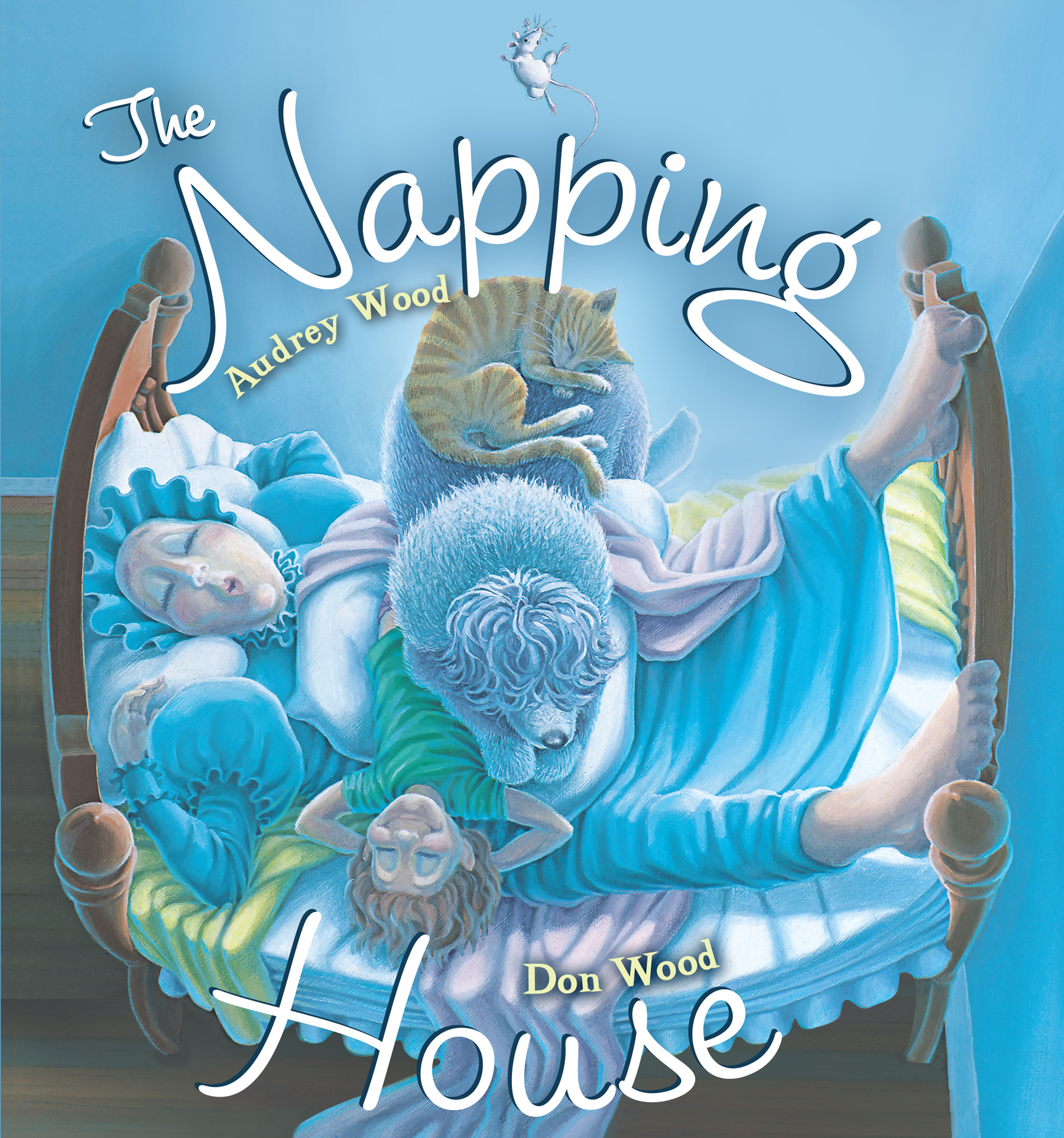 The Napping House padded board book-9780547481470