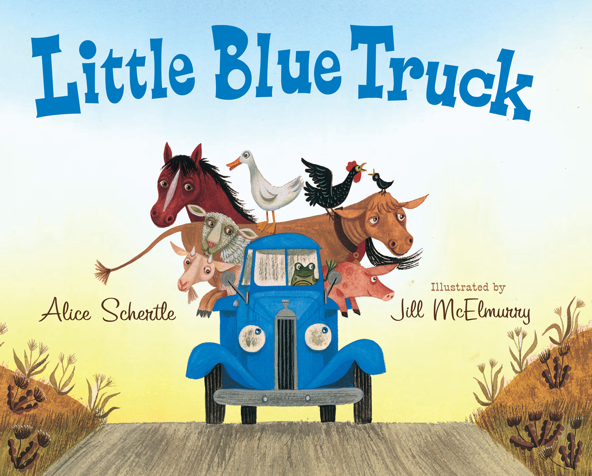 Little Blue Truck big book-9780547482484