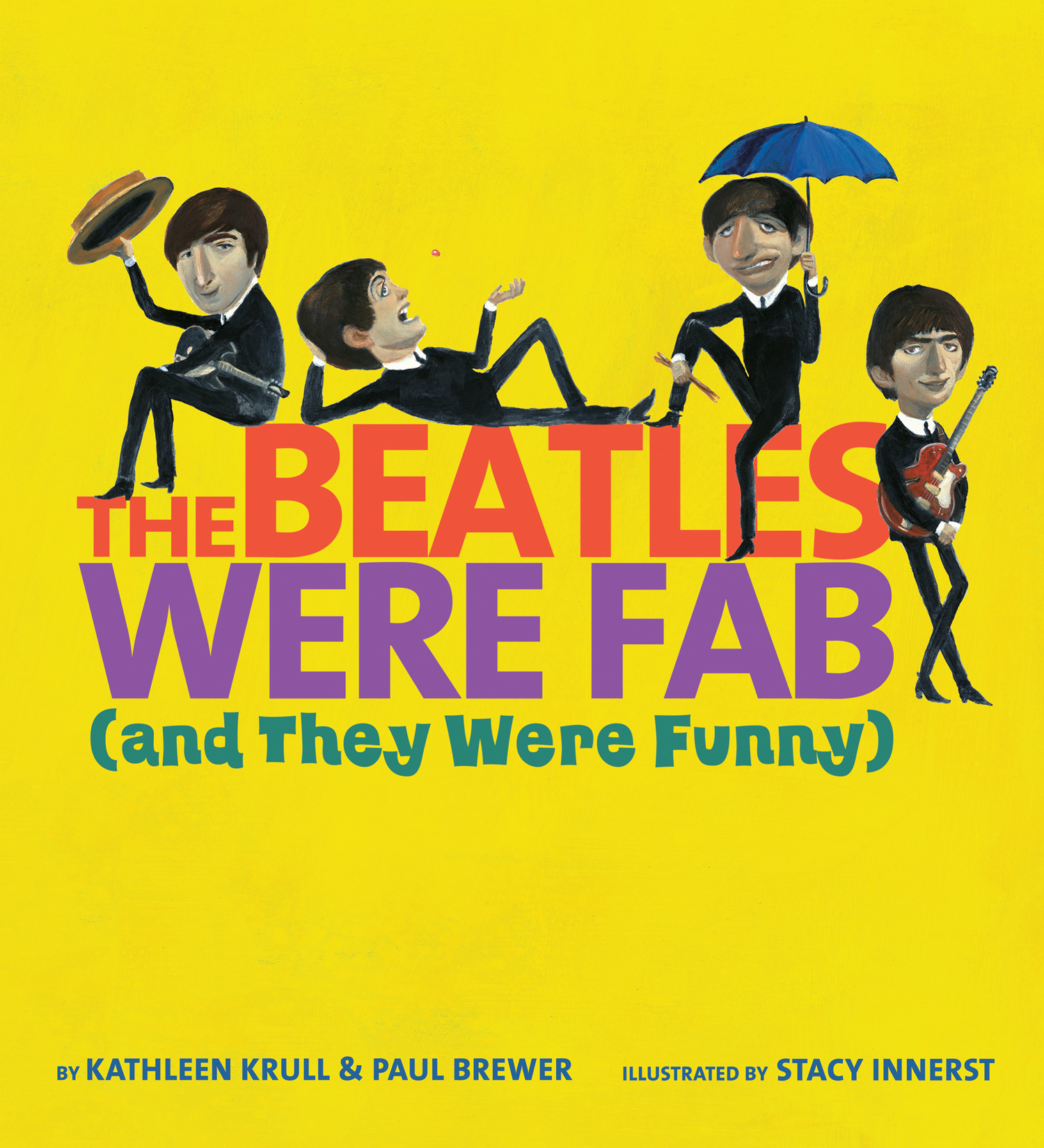 The Beatles Were Fab  (and They Were Funny)-9780547509914