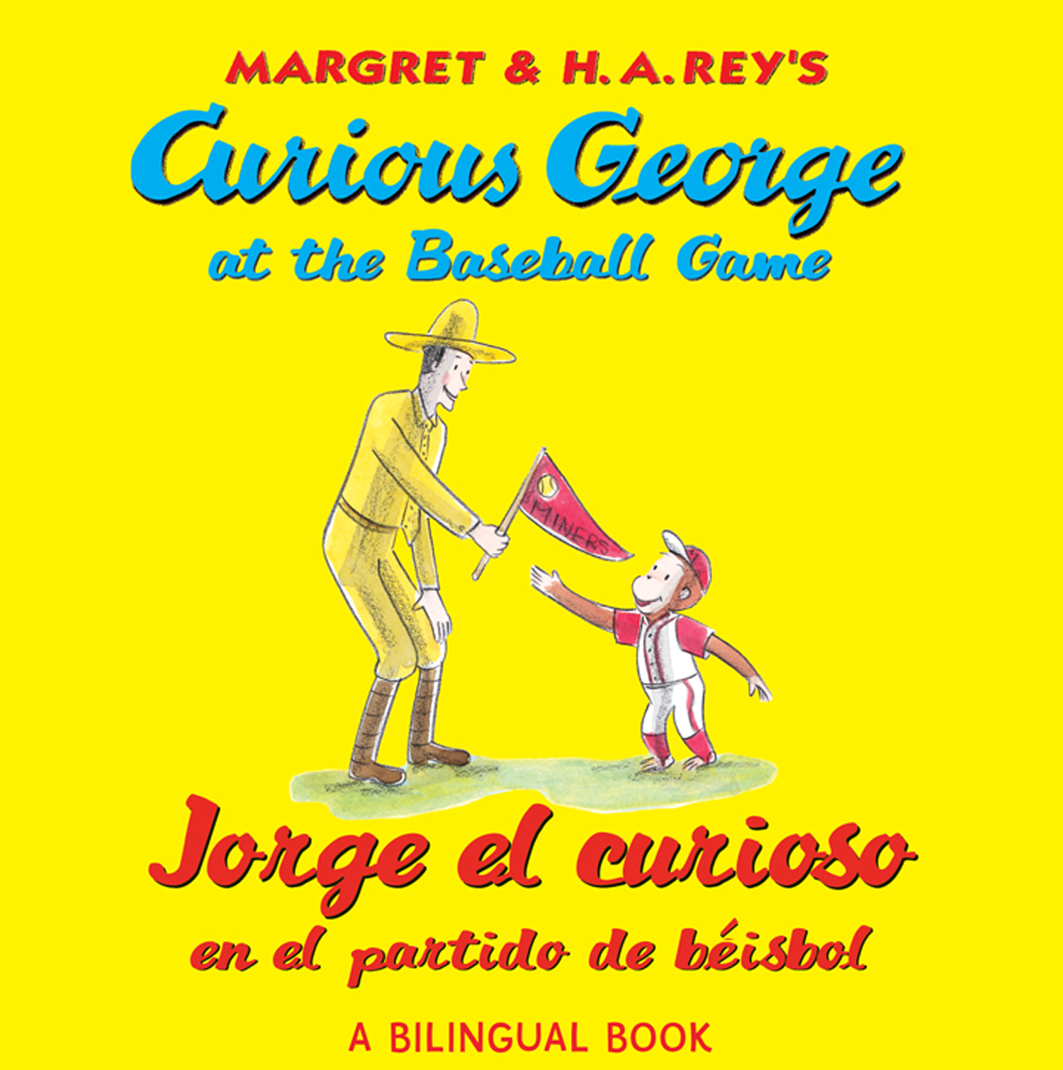 Jorge el curioso en el partido de béisbol/Curious George at the Baseball Game (bilingual edition)-9780547515007