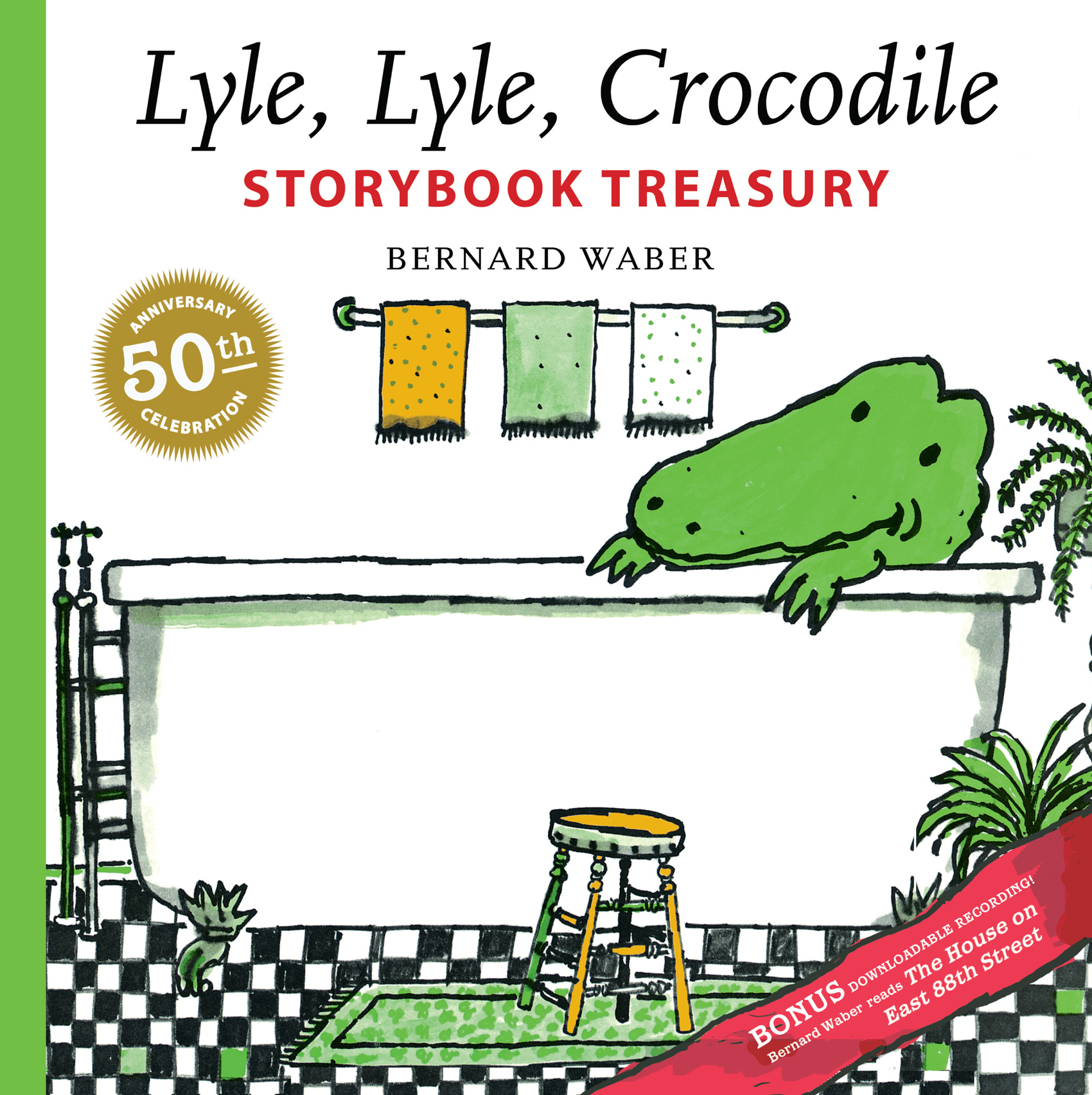 Lyle, Lyle, Crocodile Storybook Treasury-9780547516189