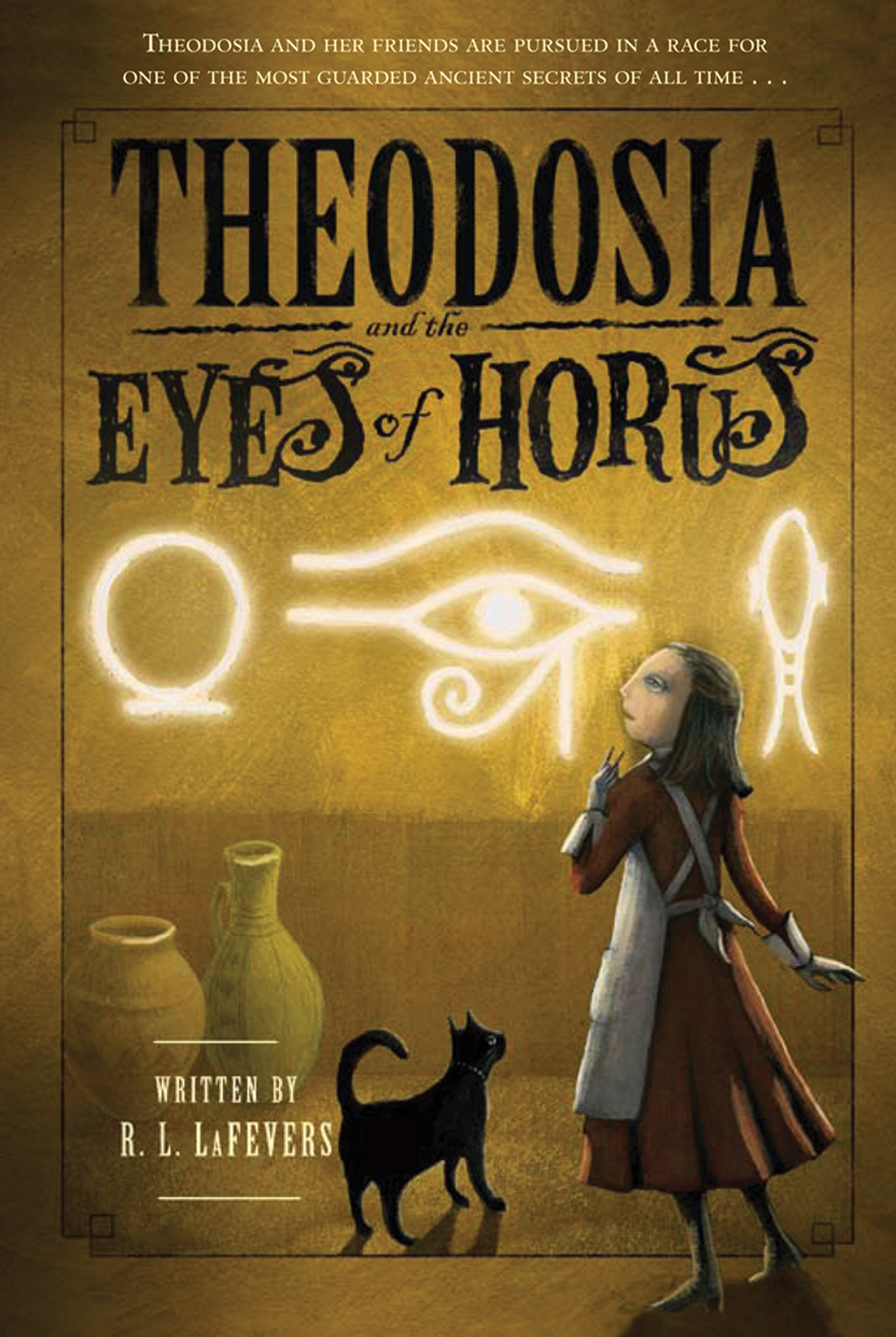Theodosia and the Eyes of Horus-9780547550114