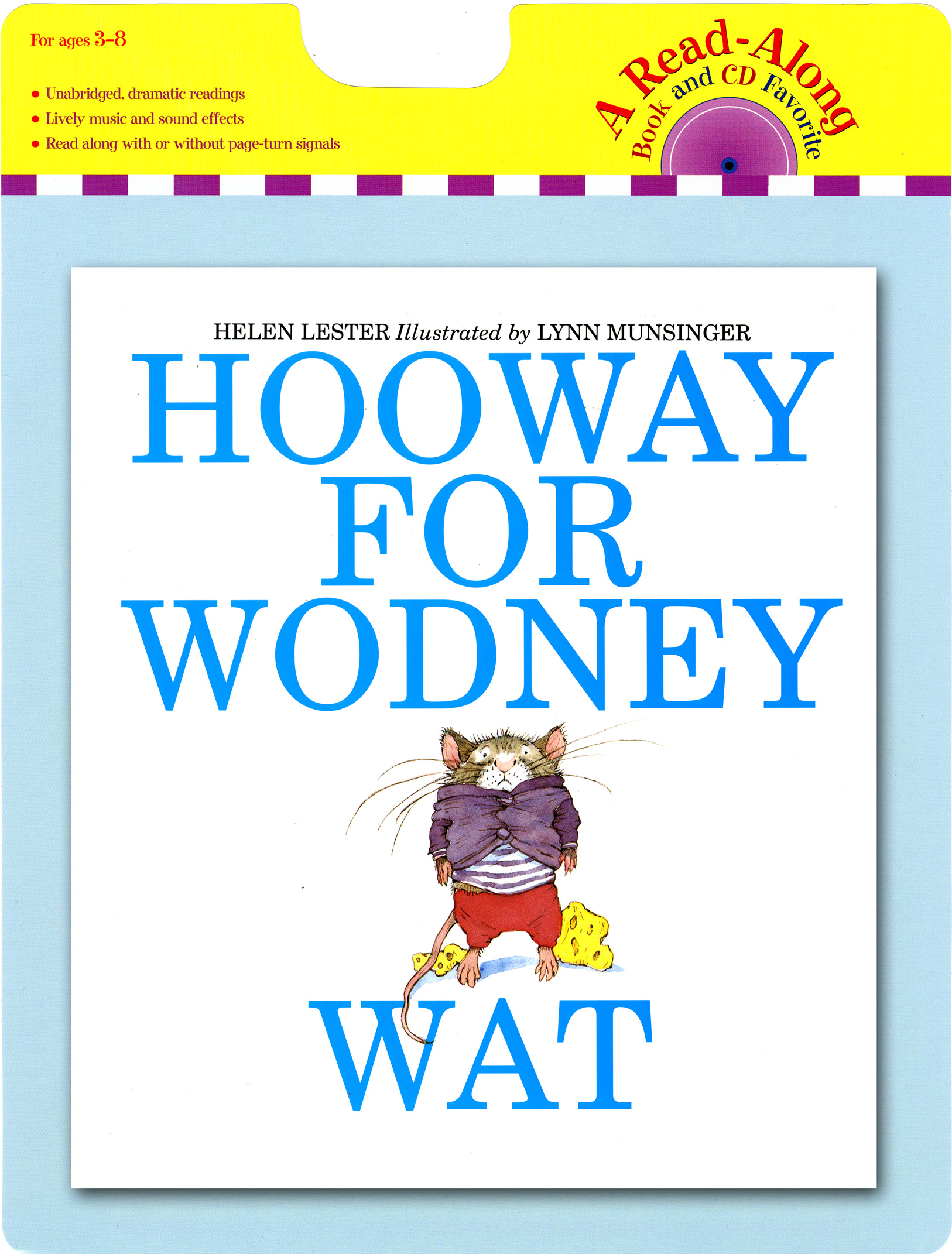 Hooway for Wodney Wat book and CD-9780547552170