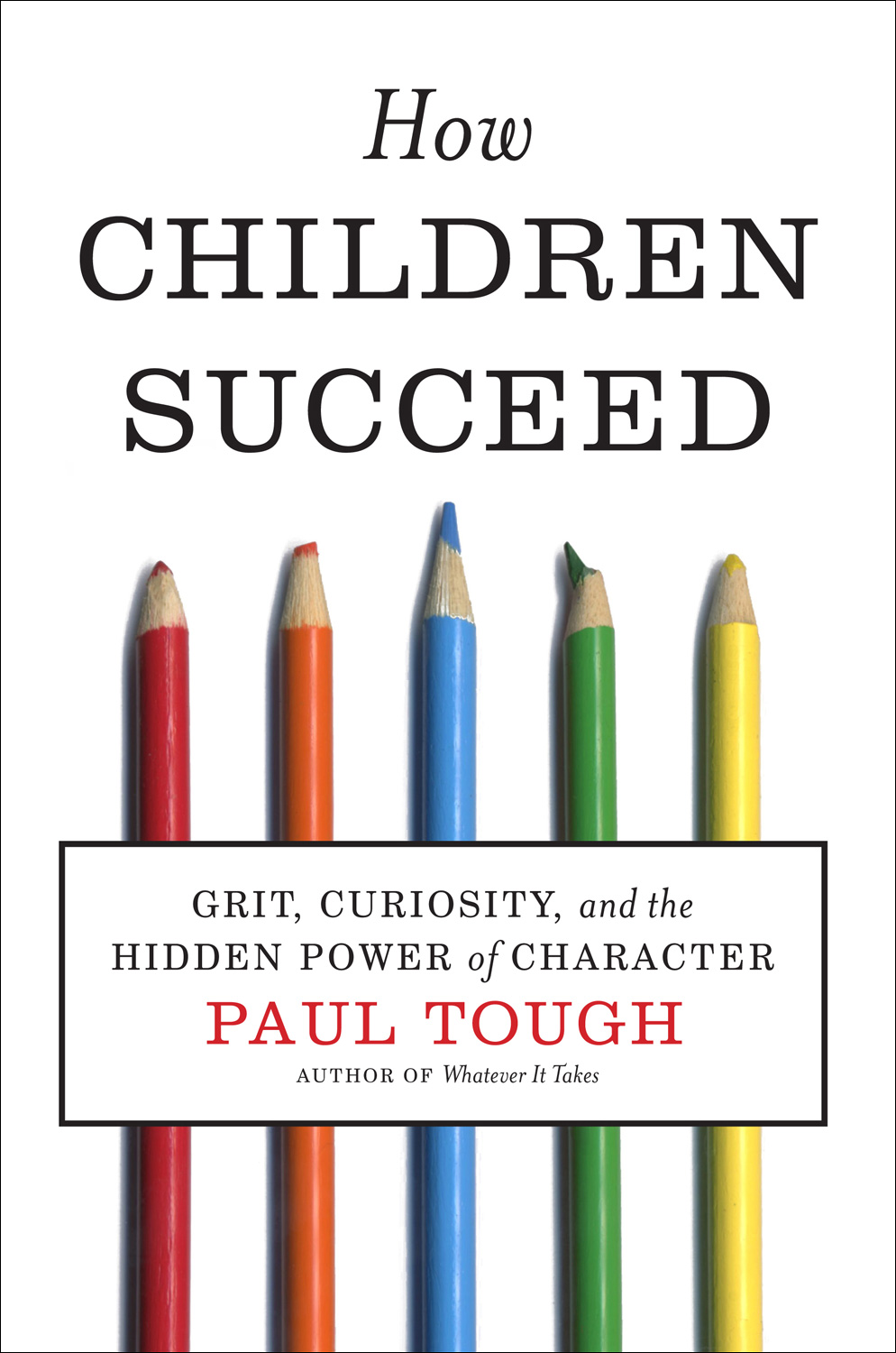 How Children Succeed-9780547564654