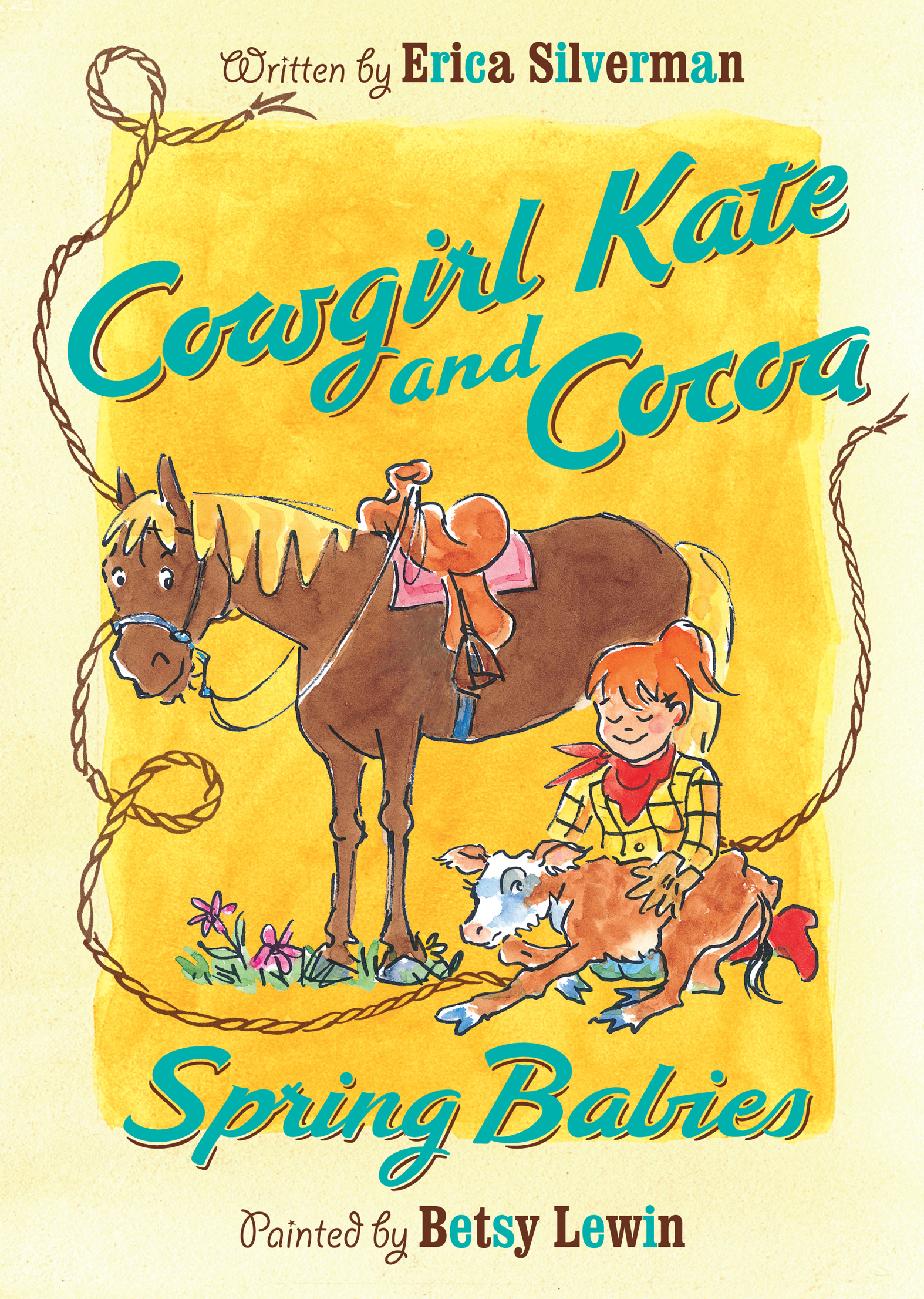 Cowgirl Kate and Cocoa: Spring Babies-9780547566856
