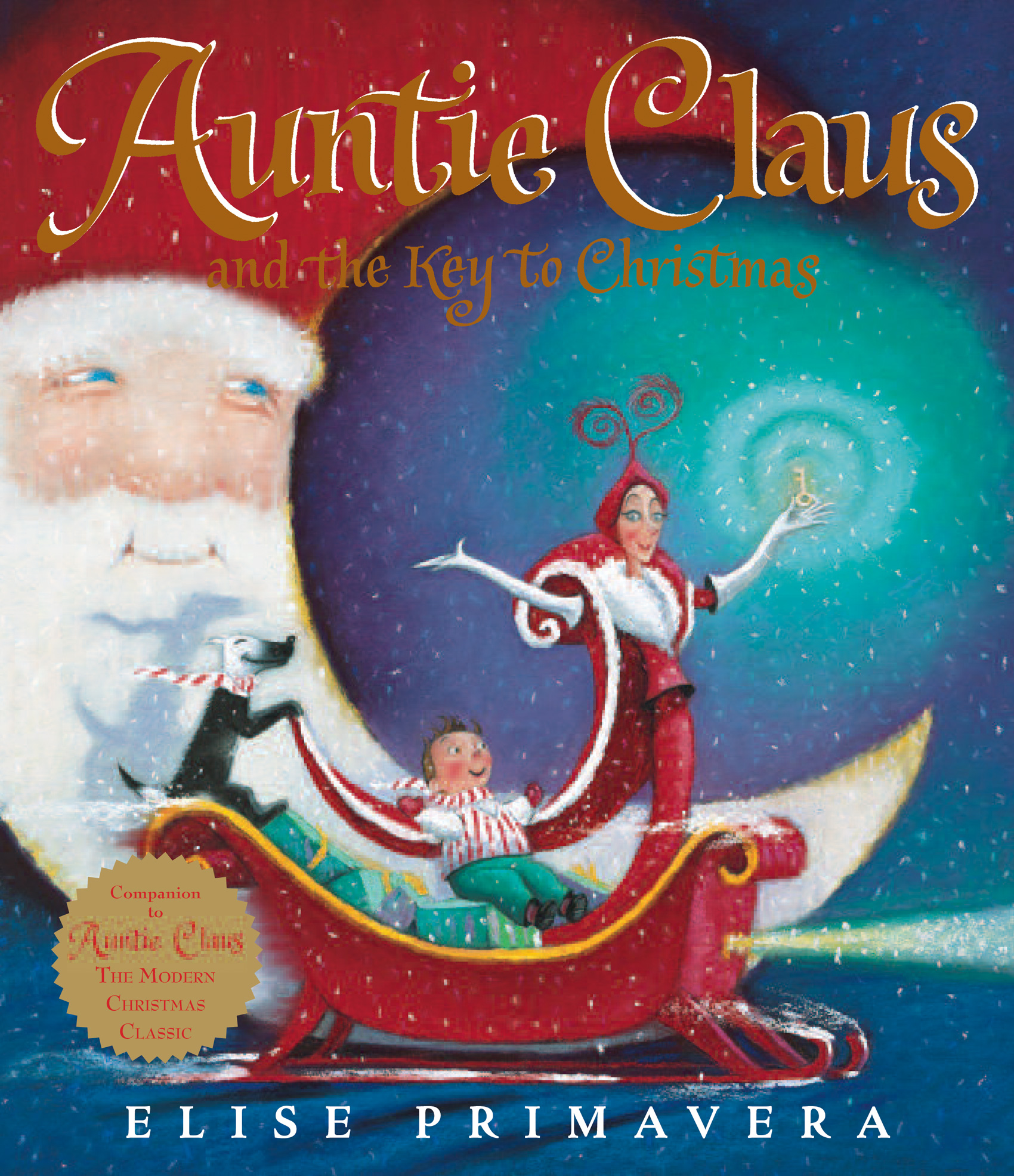 Auntie Claus and the Key to Christmas-9780547576794