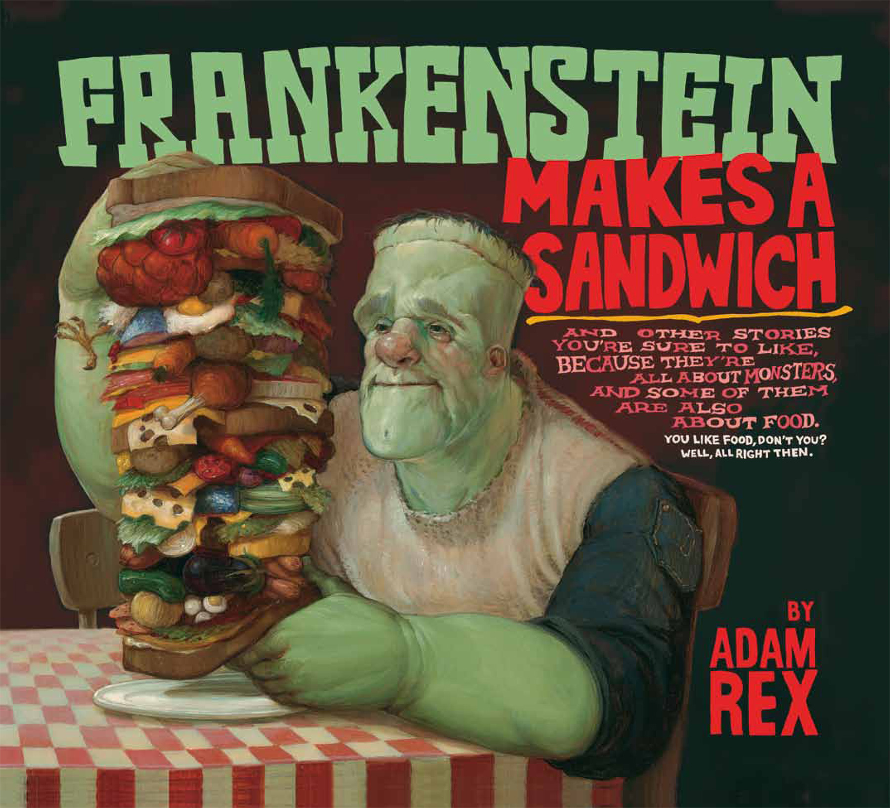 Frankenstein Makes a Sandwich-9780547576831