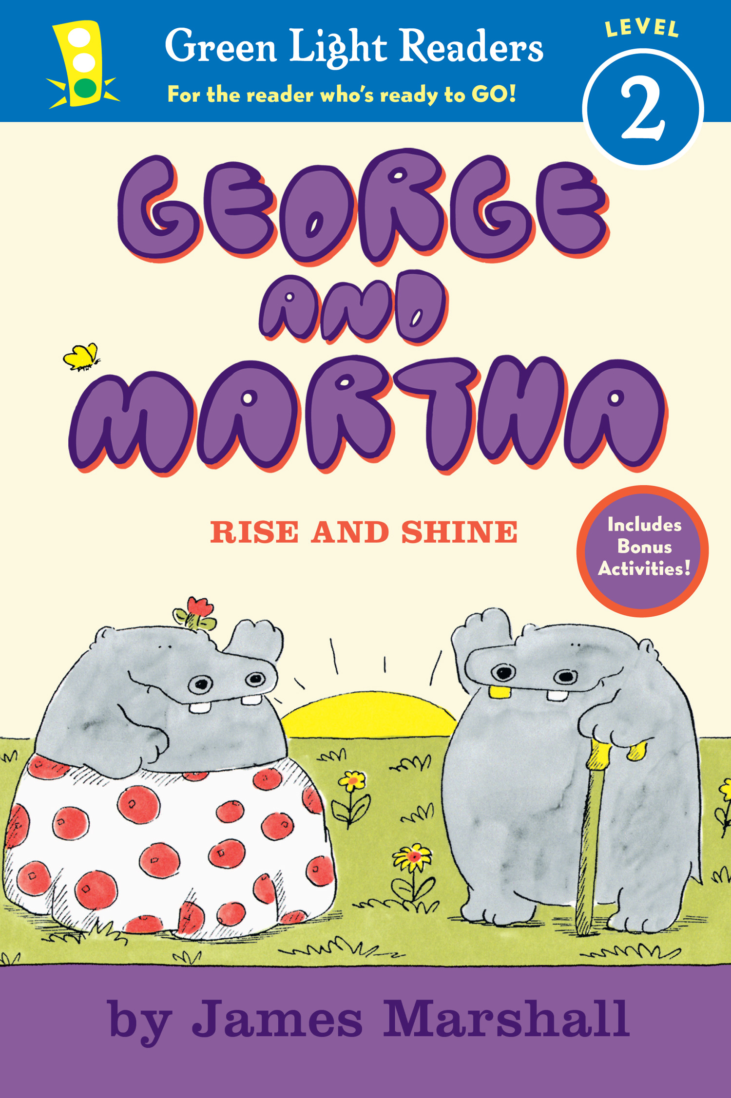 George and Martha: Rise and Shine Early Reader-9780547576879