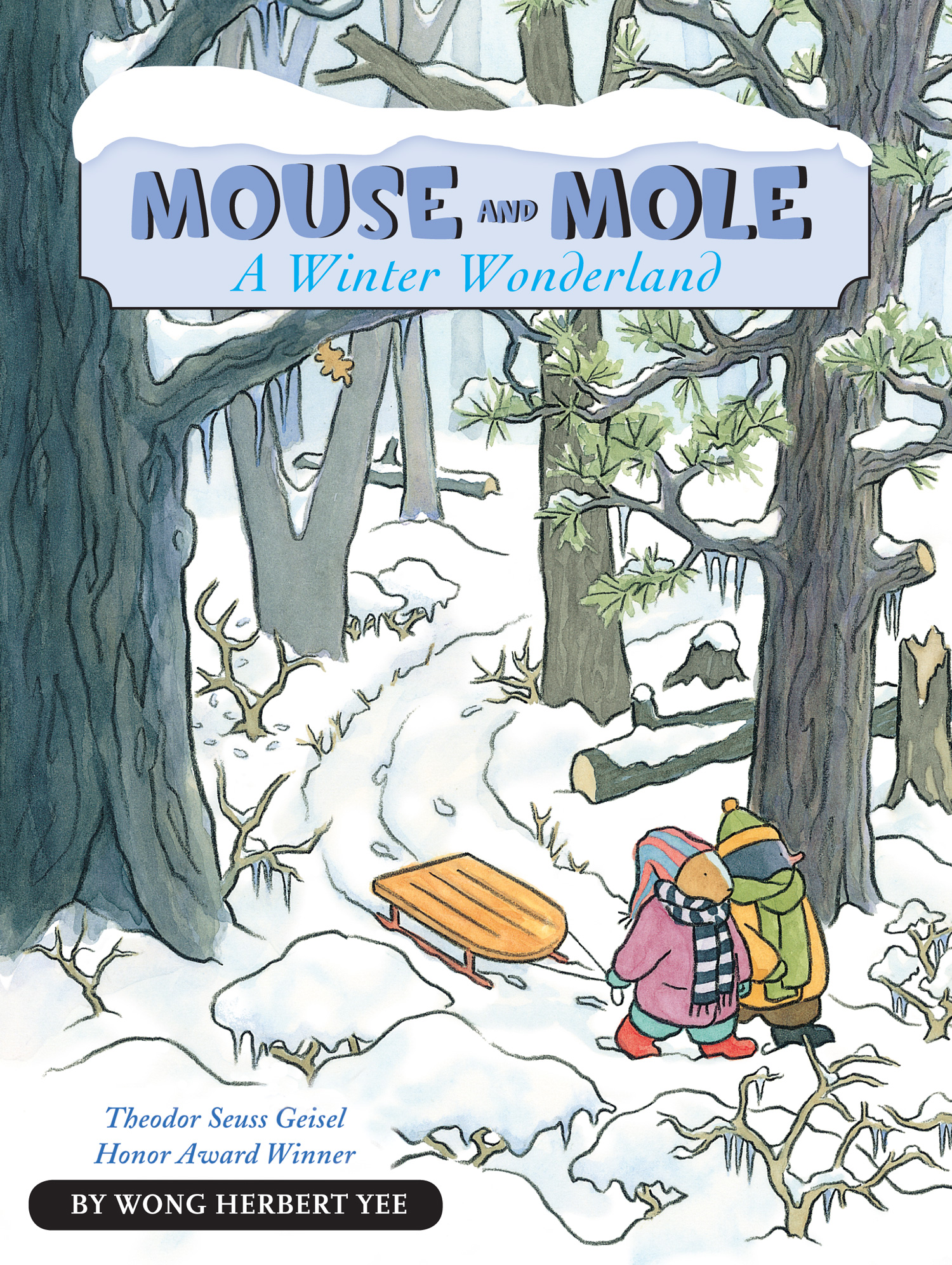 Mouse and Mole, A Winter Wonderland (reader)-9780547576978