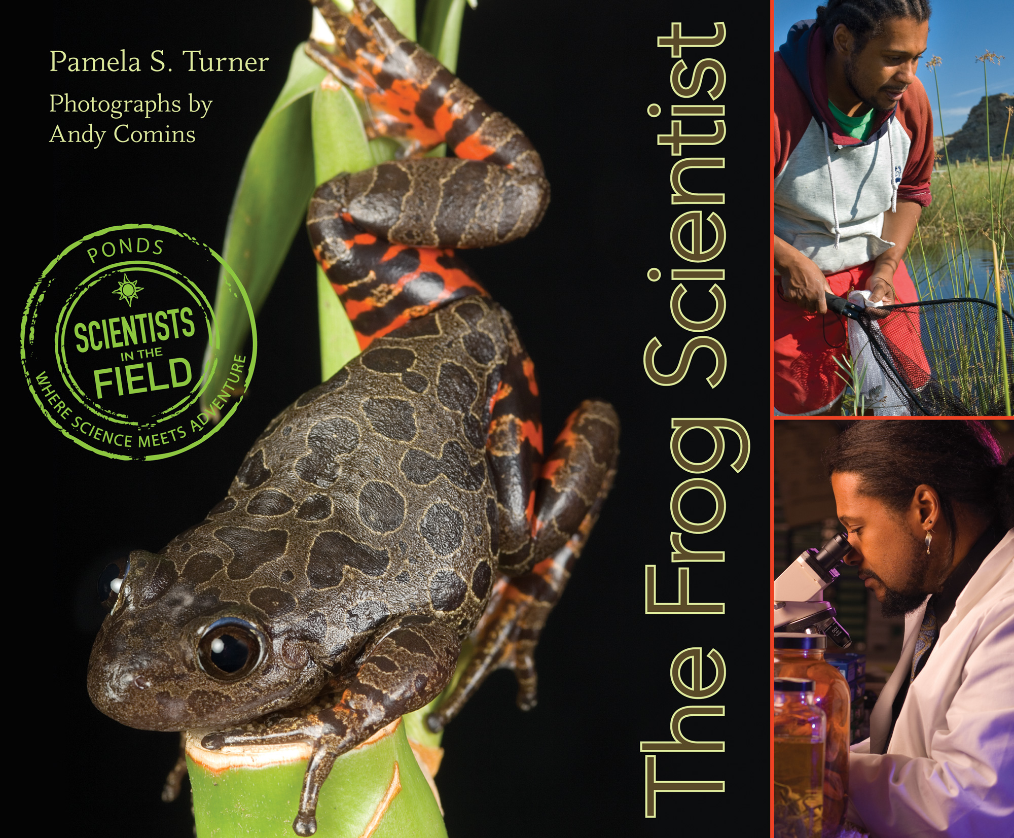 The Frog Scientist-9780547576985