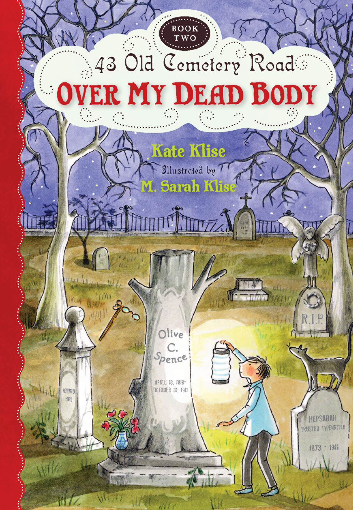 Over My Dead Body-9780547577135
