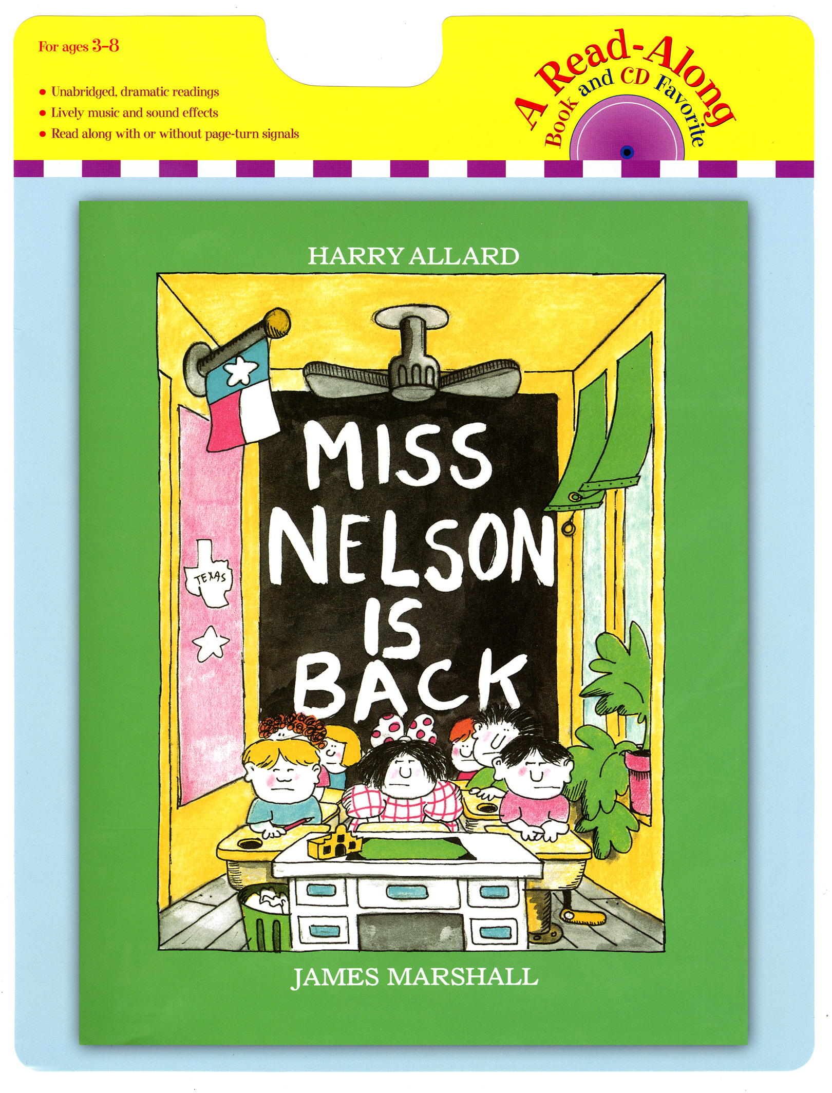 Miss Nelson Is Back book and CD-9780547577180