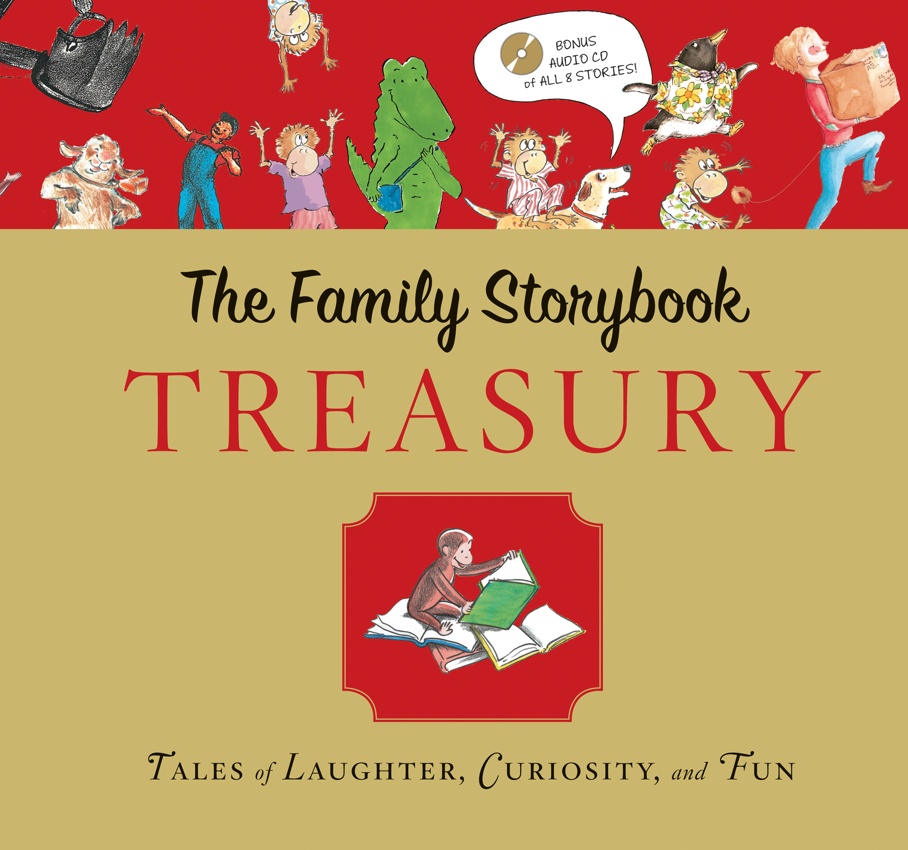 Family Storybook Treasury with CD-9780547612218