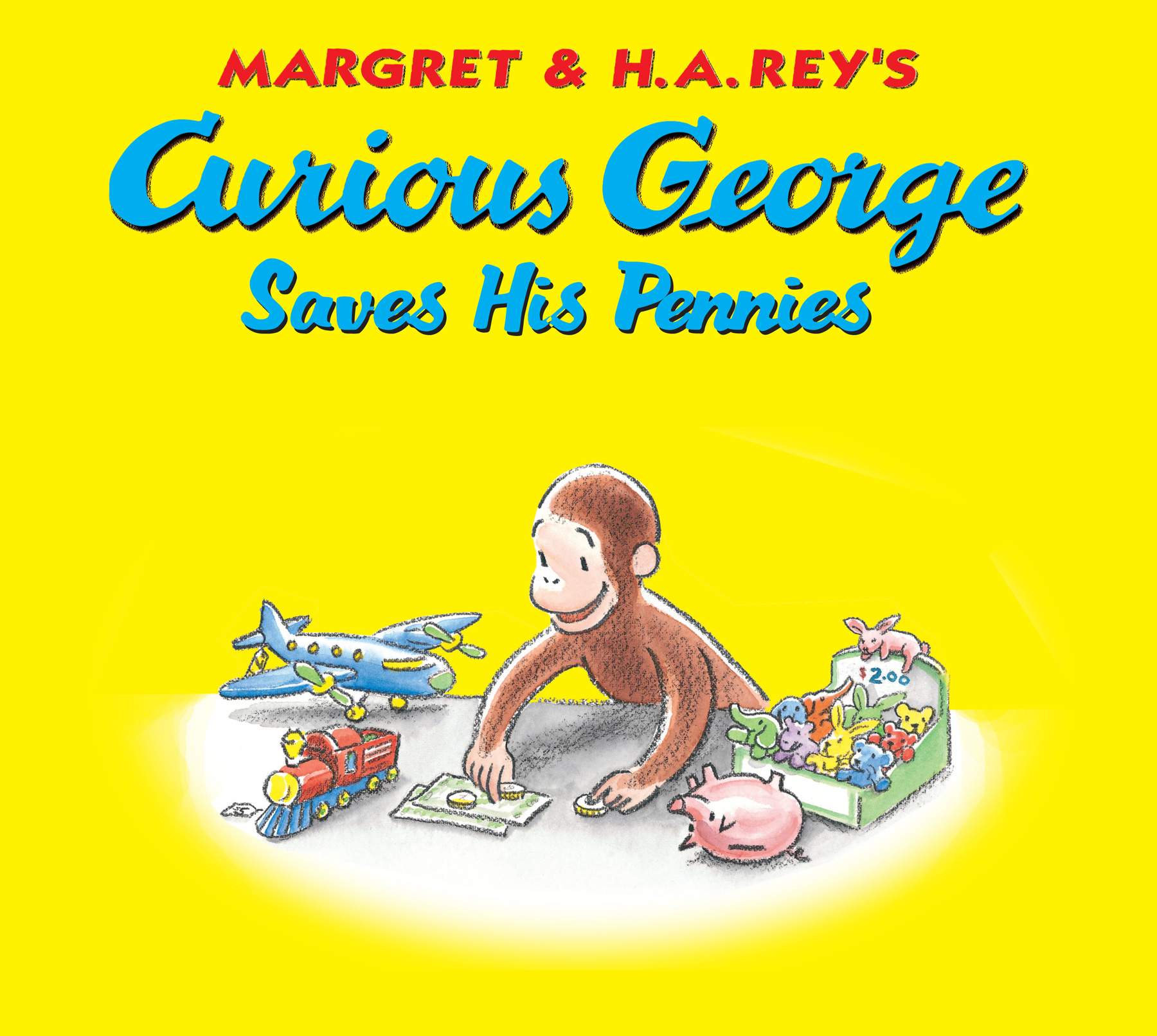 Curious George Saves His Pennies-9780547632315