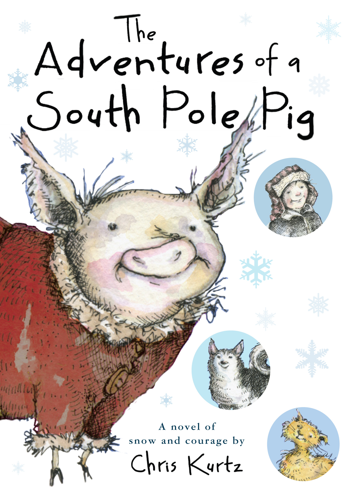 The Adventures of a South Pole Pig-9780547634555