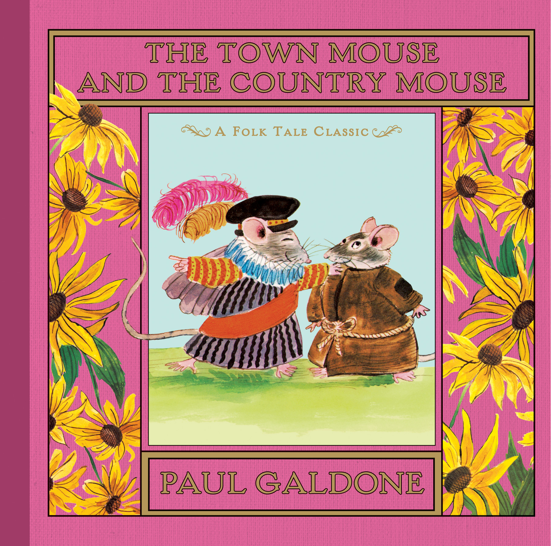 The Town Mouse and the Country Mouse-9780547668543