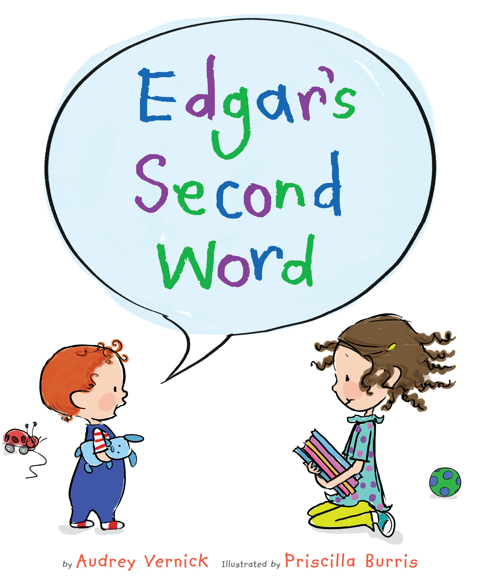 Edgar's Second Word-9780547684628