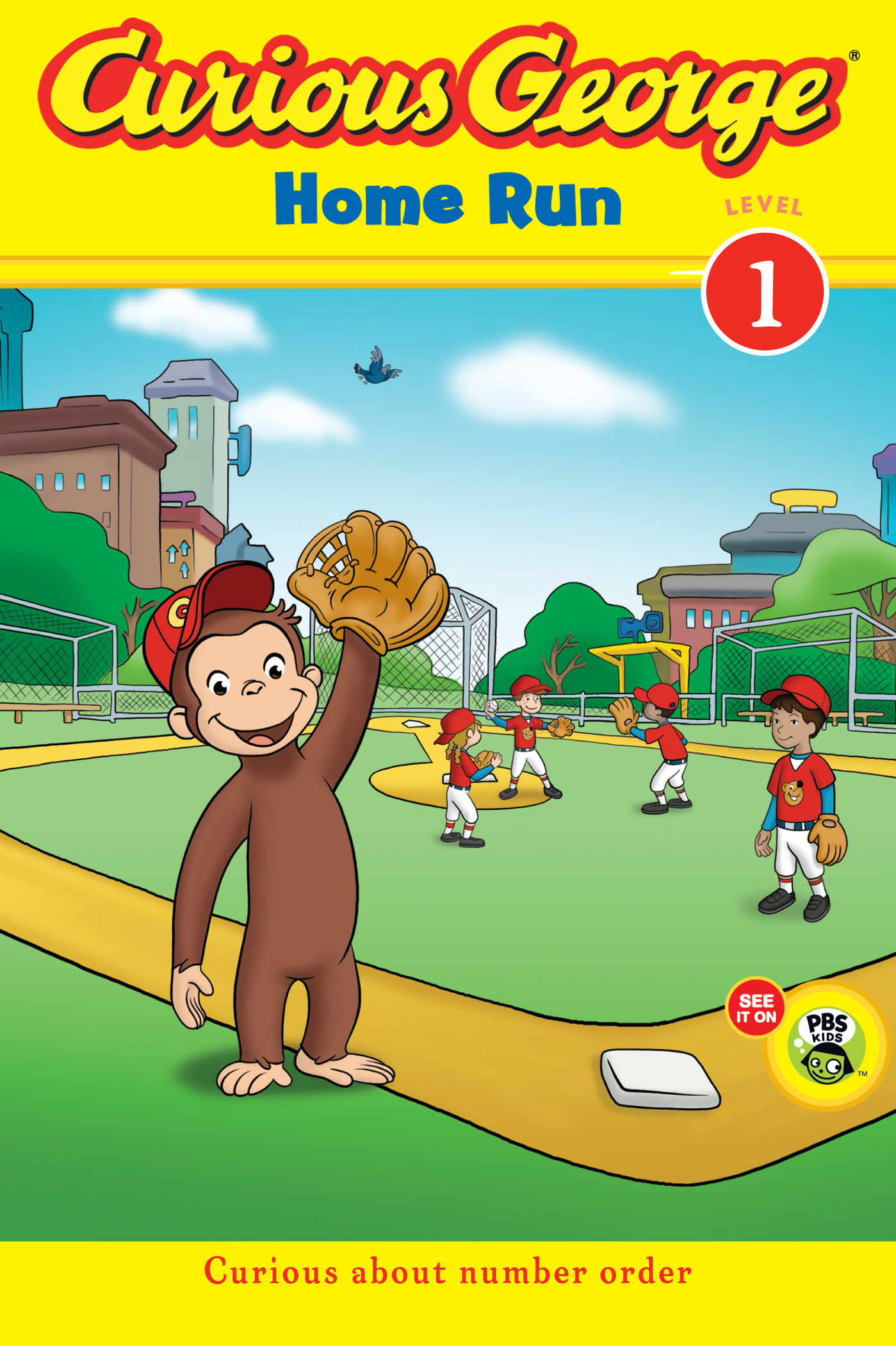 Curious George Home Run (CGTV Early Reader)-9780547691183