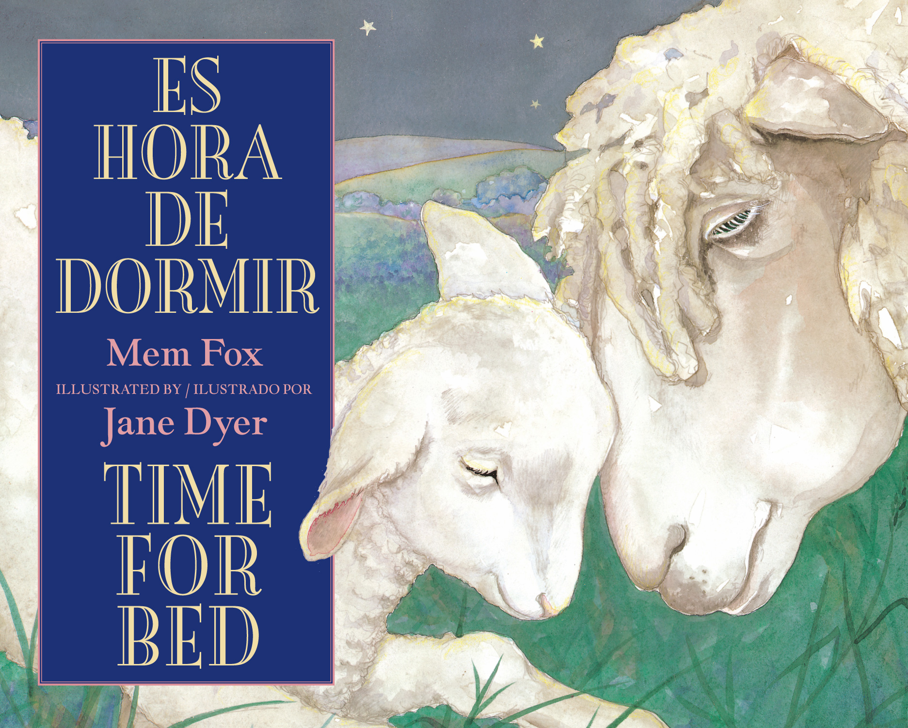 Es hora de dormir/Time for Bed-9780547719078