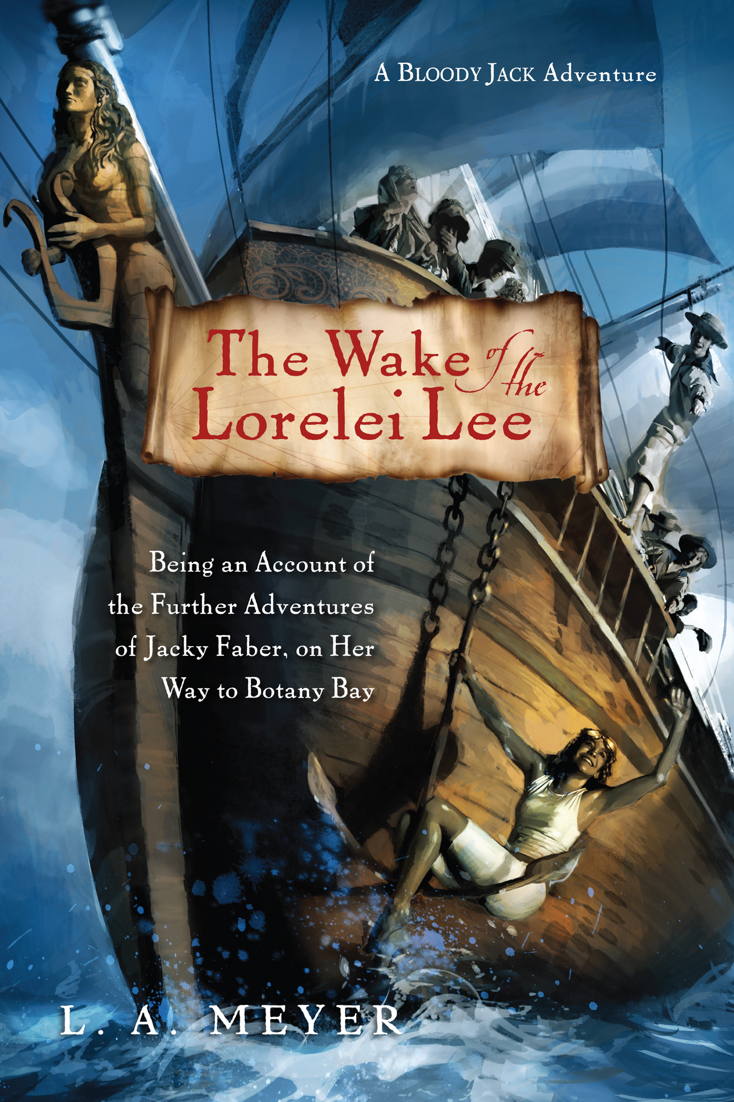 The Wake of the Lorelei Lee-9780547721941