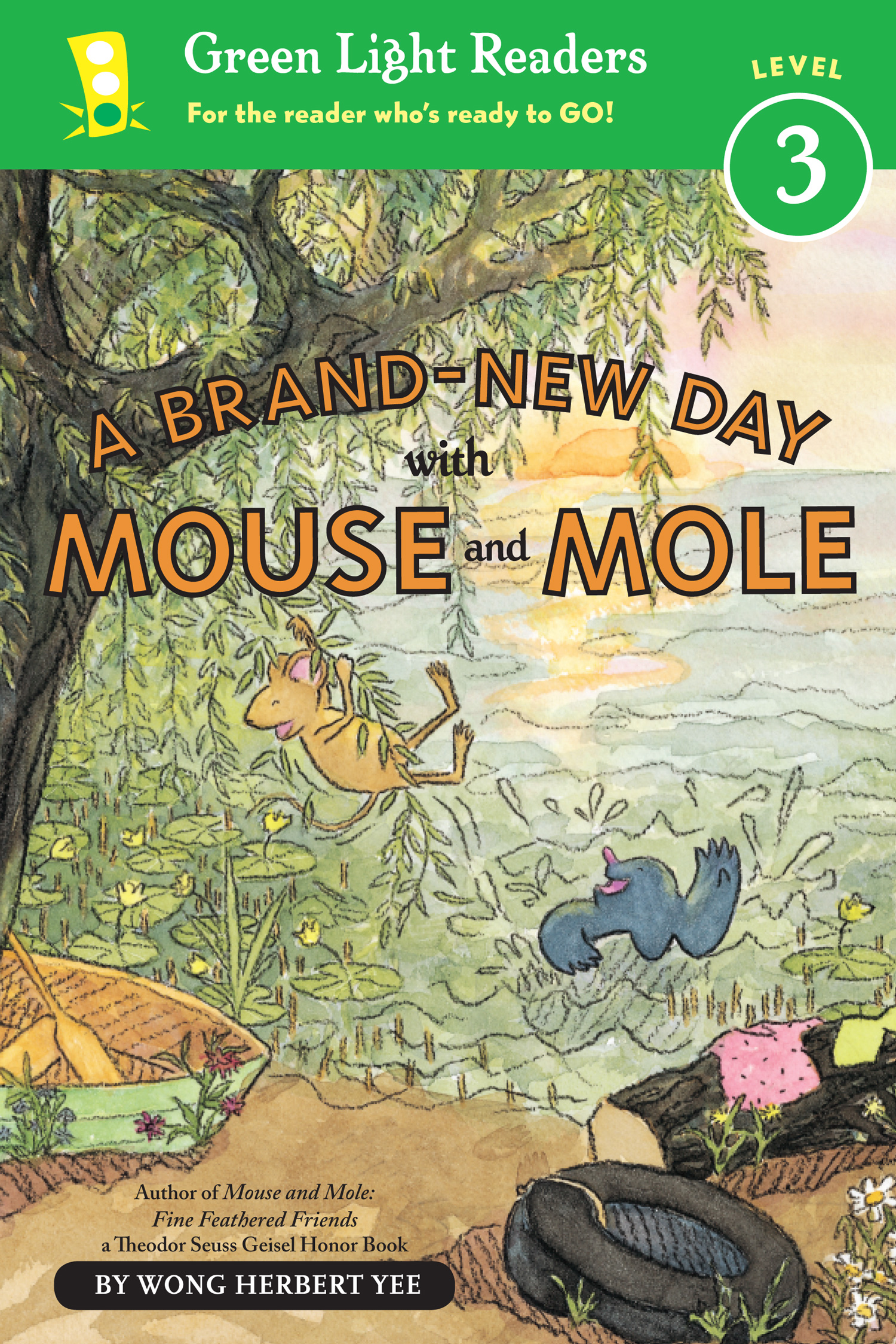A Brand-New Day with Mouse and Mole (reader)-9780547722092