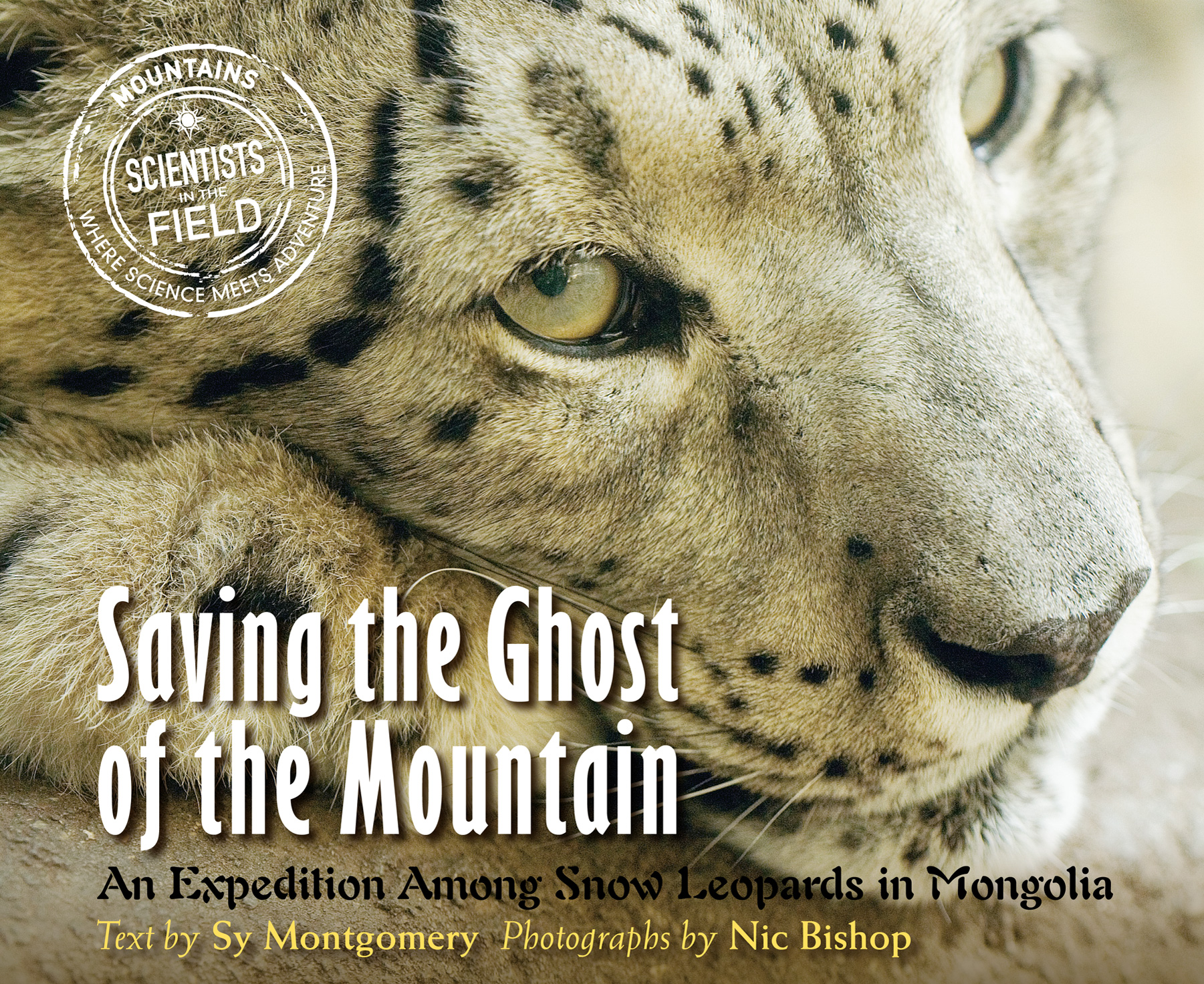 Saving the Ghost of the Mountain-9780547727349