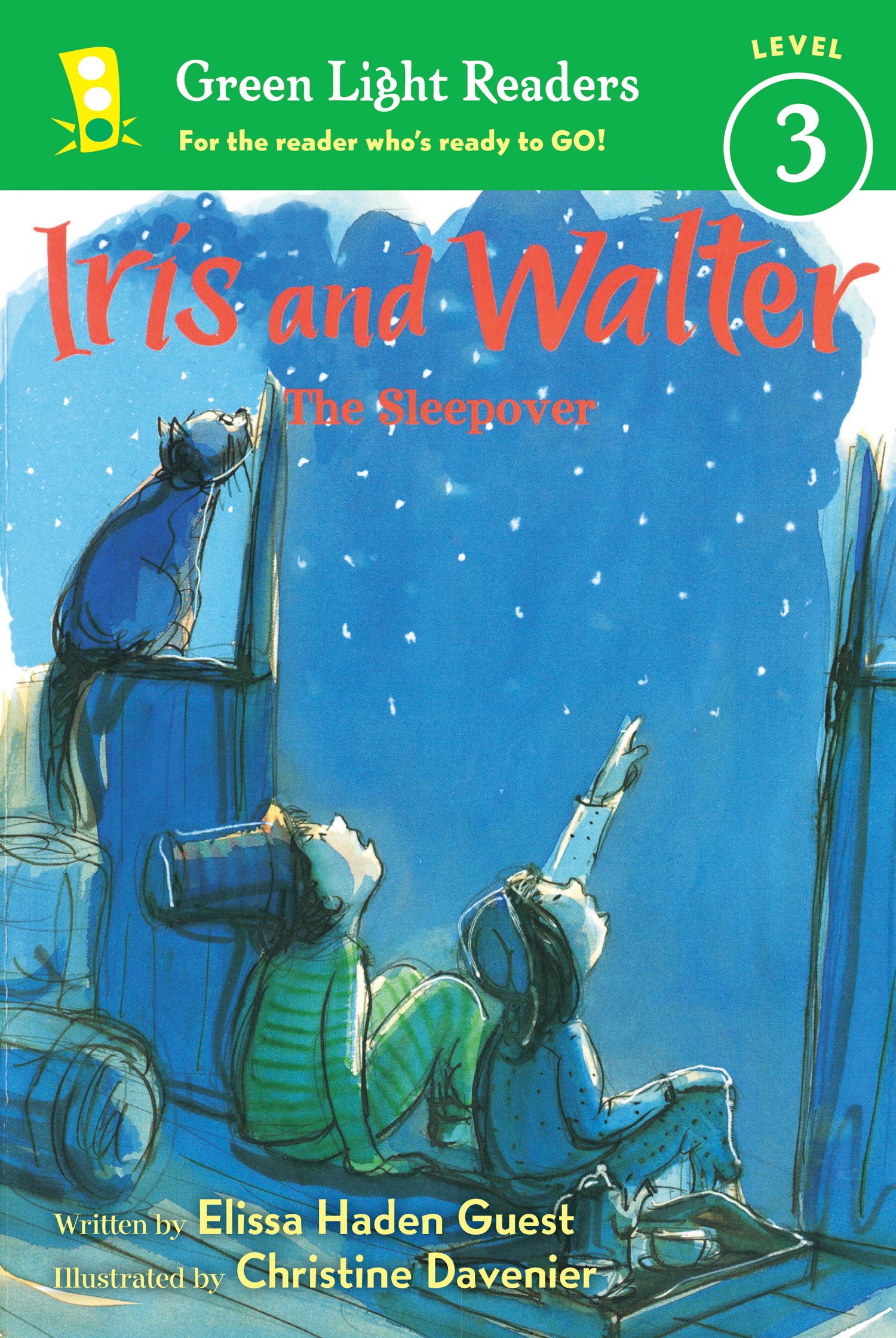Iris and Walter: The Sleepover-9780547745565