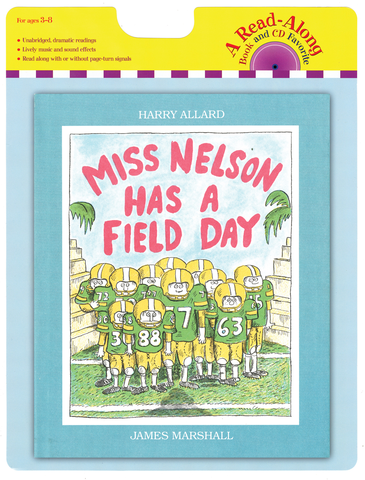 Miss Nelson Has a Field Day book and CD-9780547753768