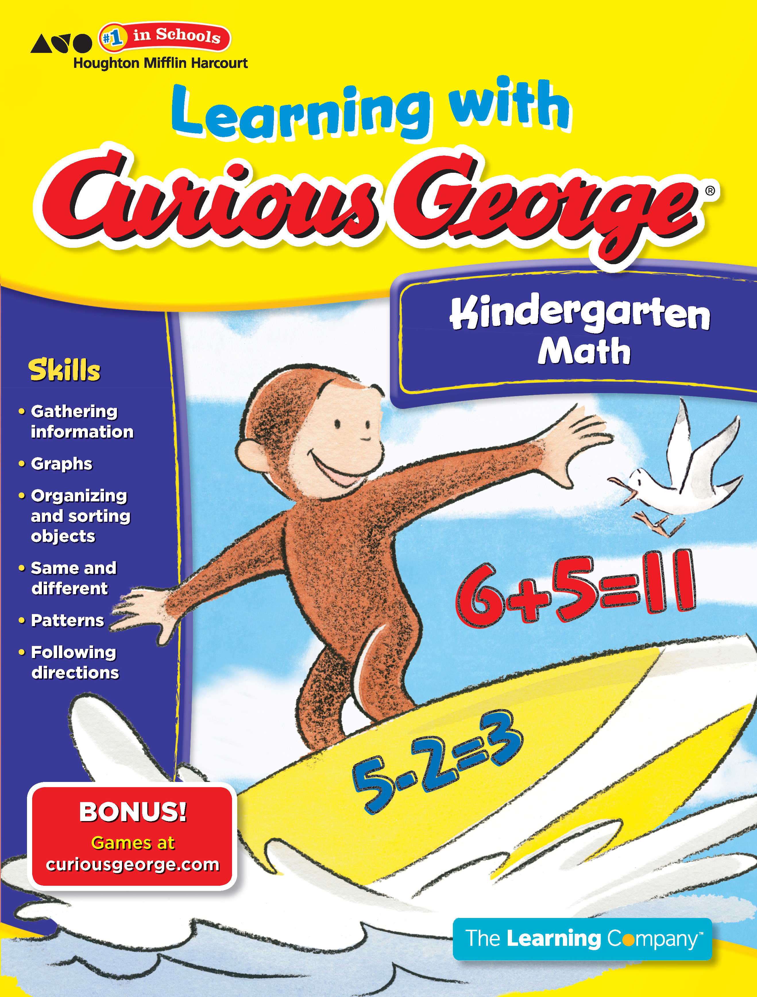 Learning with Curious George Kindergarten Math-9780547790978