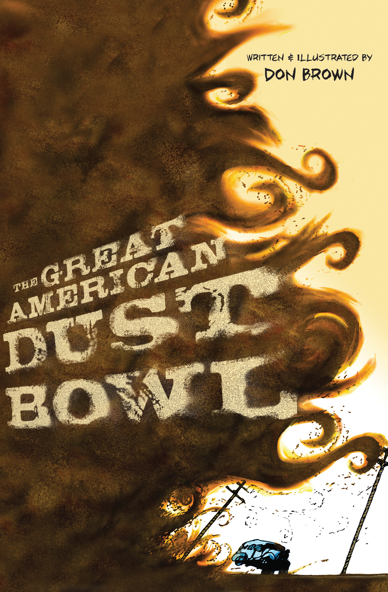 The Great American Dust Bowl-9780547815503