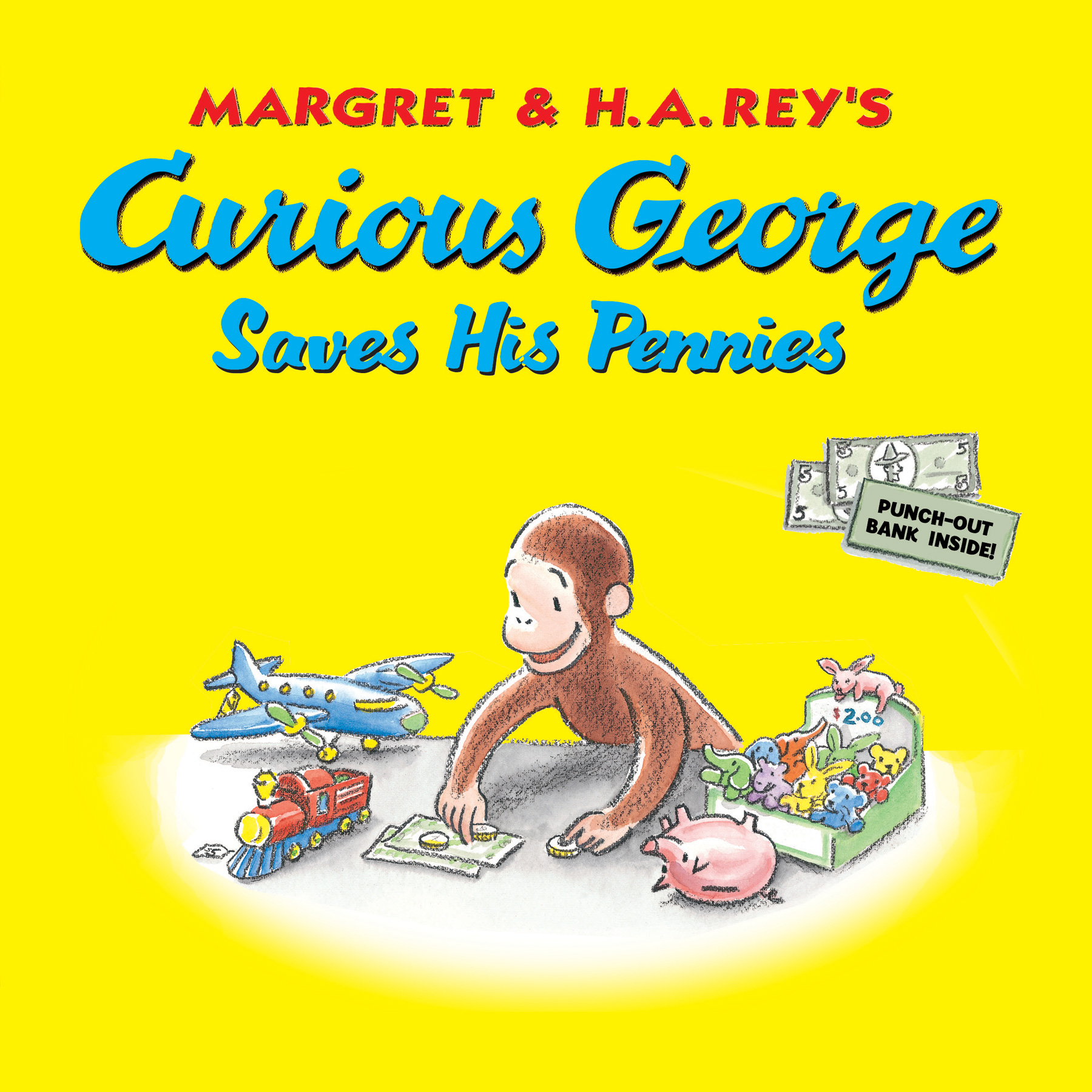 Curious George Saves His Pennies-9780547818535