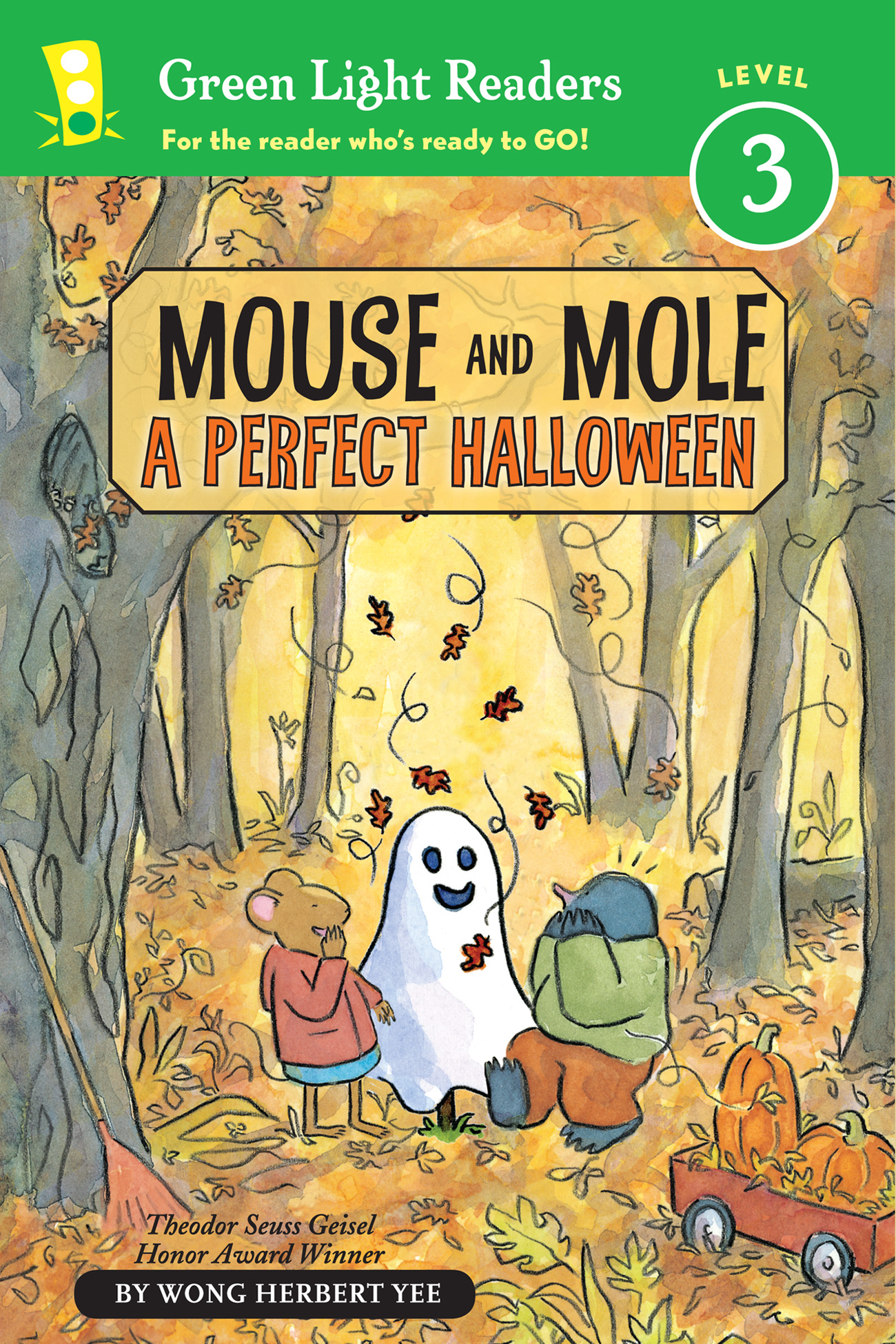 Mouse and Mole: A Perfect Halloween (reader)-9780547850573