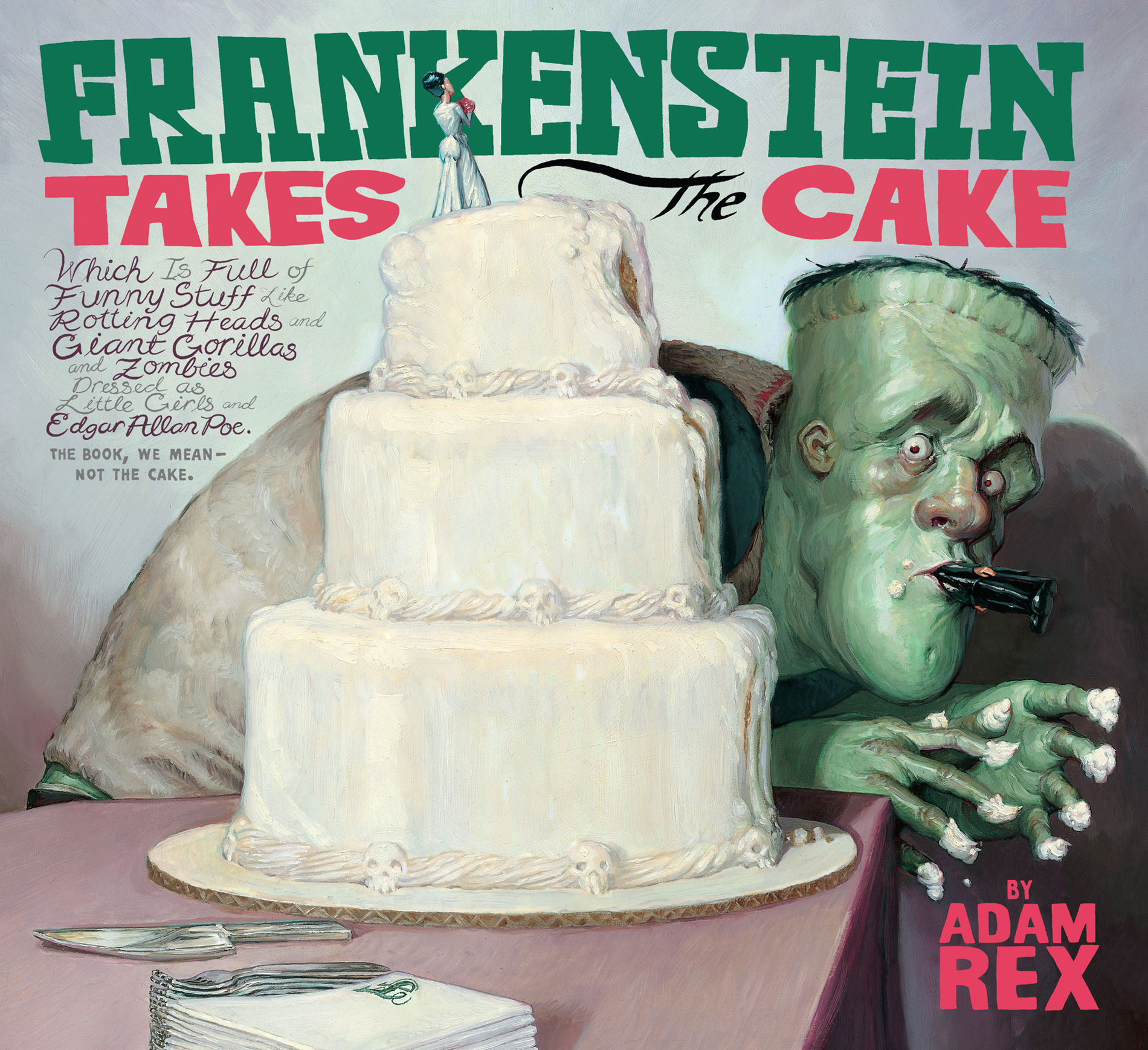Frankenstein Takes the Cake-9780547850627
