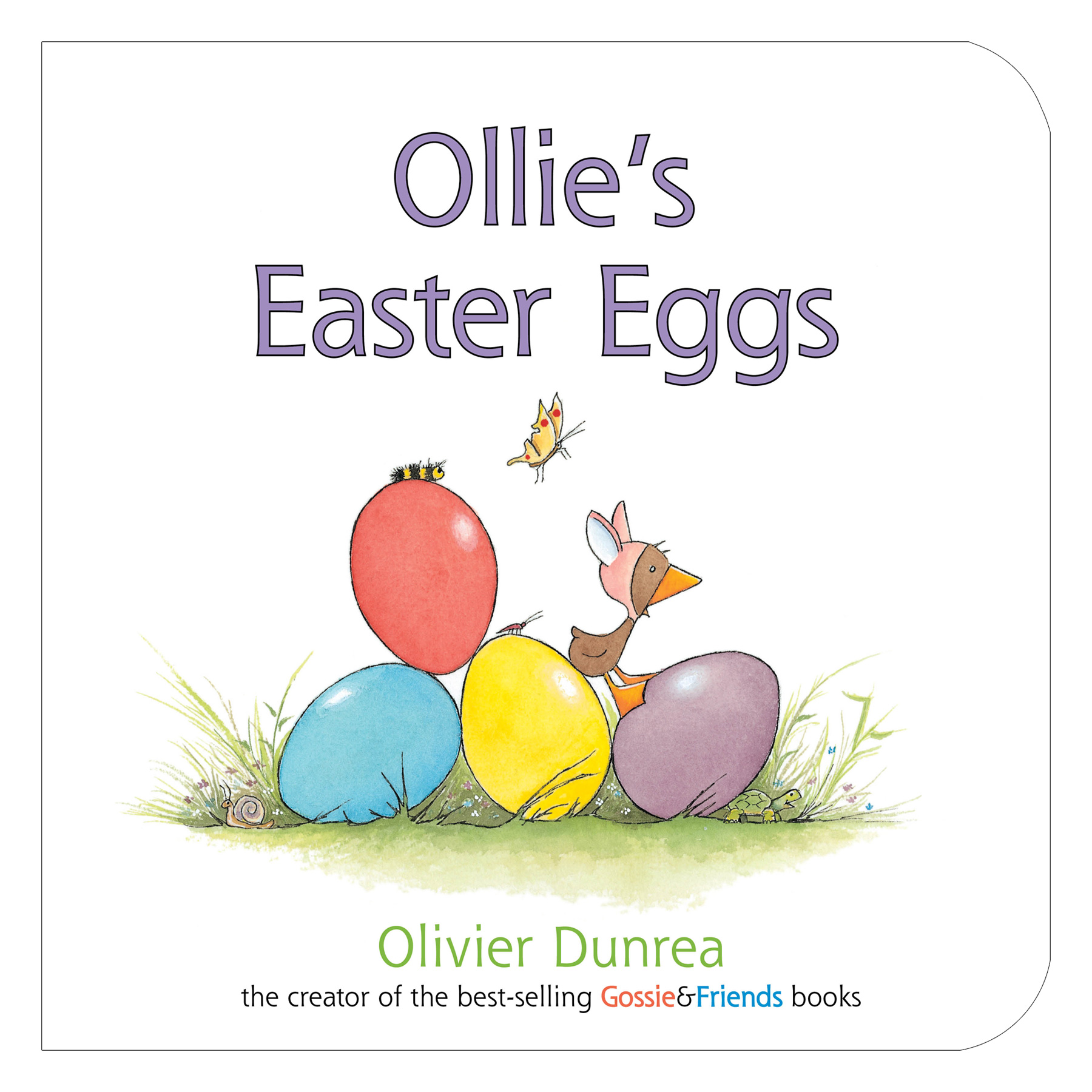 Ollie's Easter Eggs board book-9780547859187