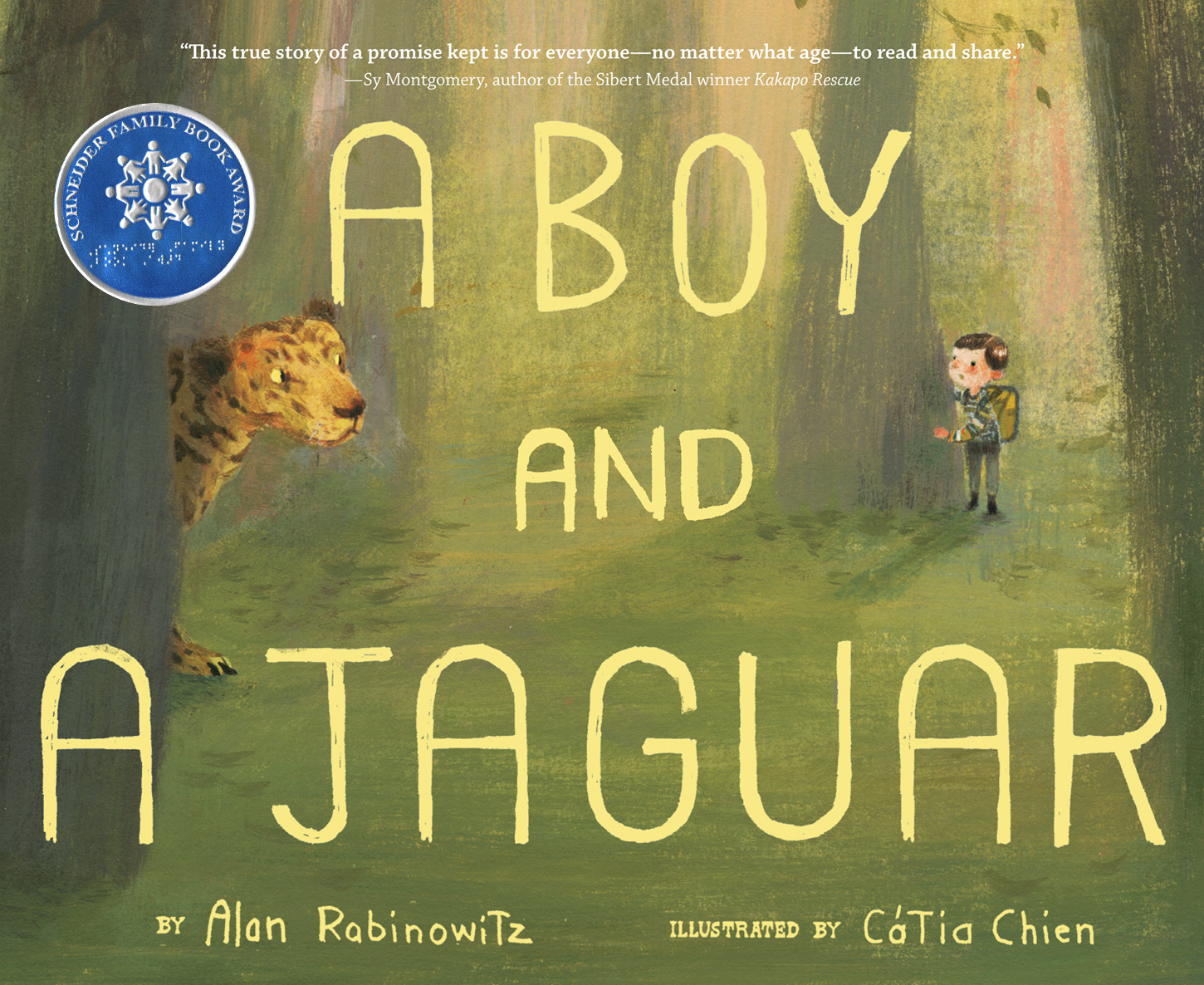 A Boy and a Jaguar-9780547875071