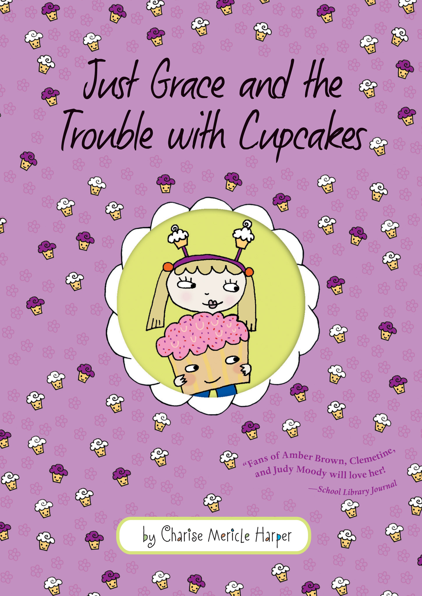 Just Grace and the Trouble with Cupcakes-9780547877440