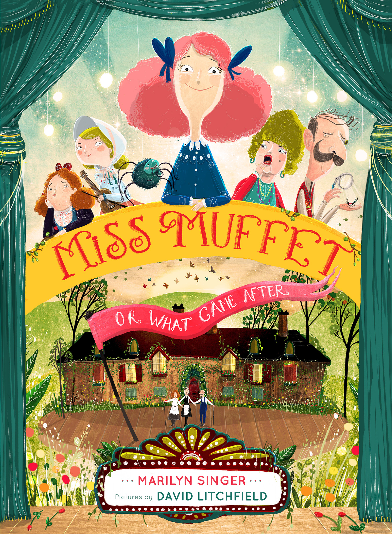 Miss Muffet, or What Came After-9780547905662