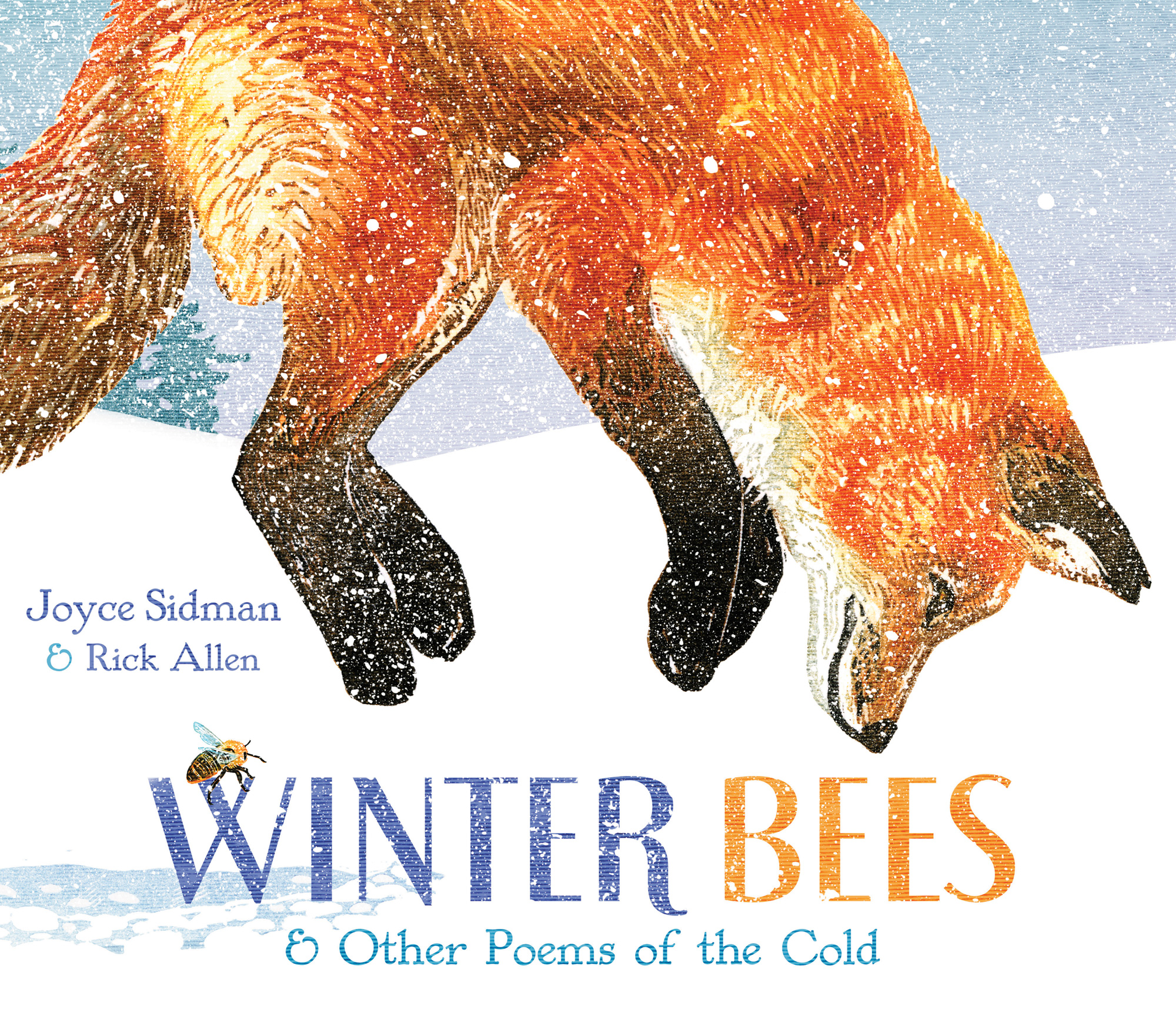 Winter Bees & Other Poems of the Cold-9780547906508